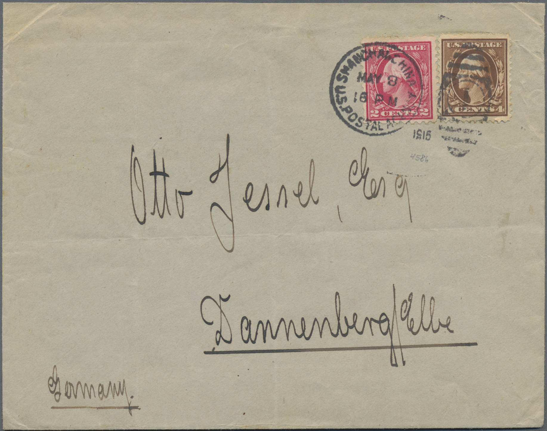 Lot 34592 - China - Fremde Postanstalten / Foreign Offices  -  Auktionshaus Christoph Gärtner GmbH & Co. KG Sale #44 Collections Germany