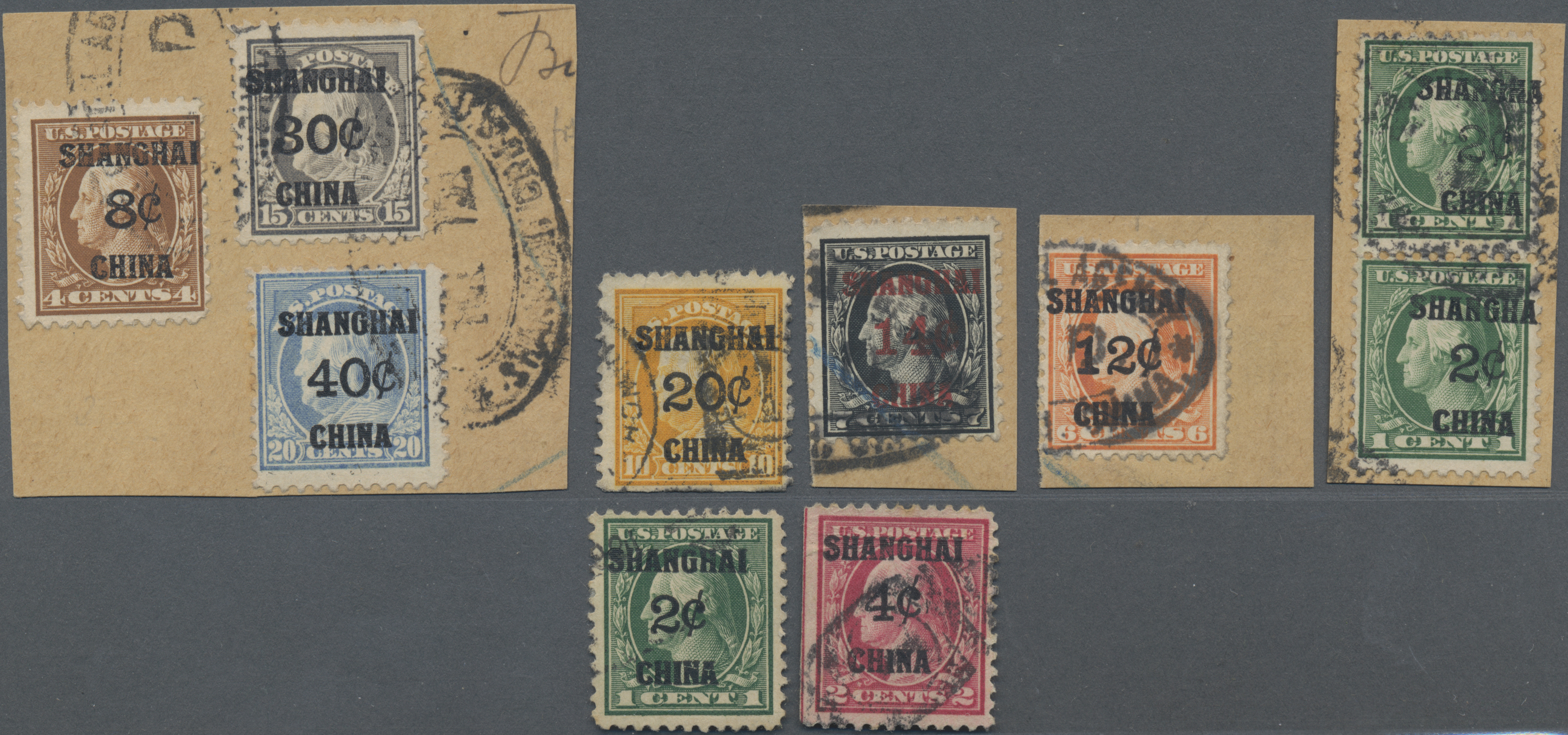 Lot 34593 - China - Fremde Postanstalten / Foreign Offices  -  Auktionshaus Christoph Gärtner GmbH & Co. KG Sale #44 Collections Germany