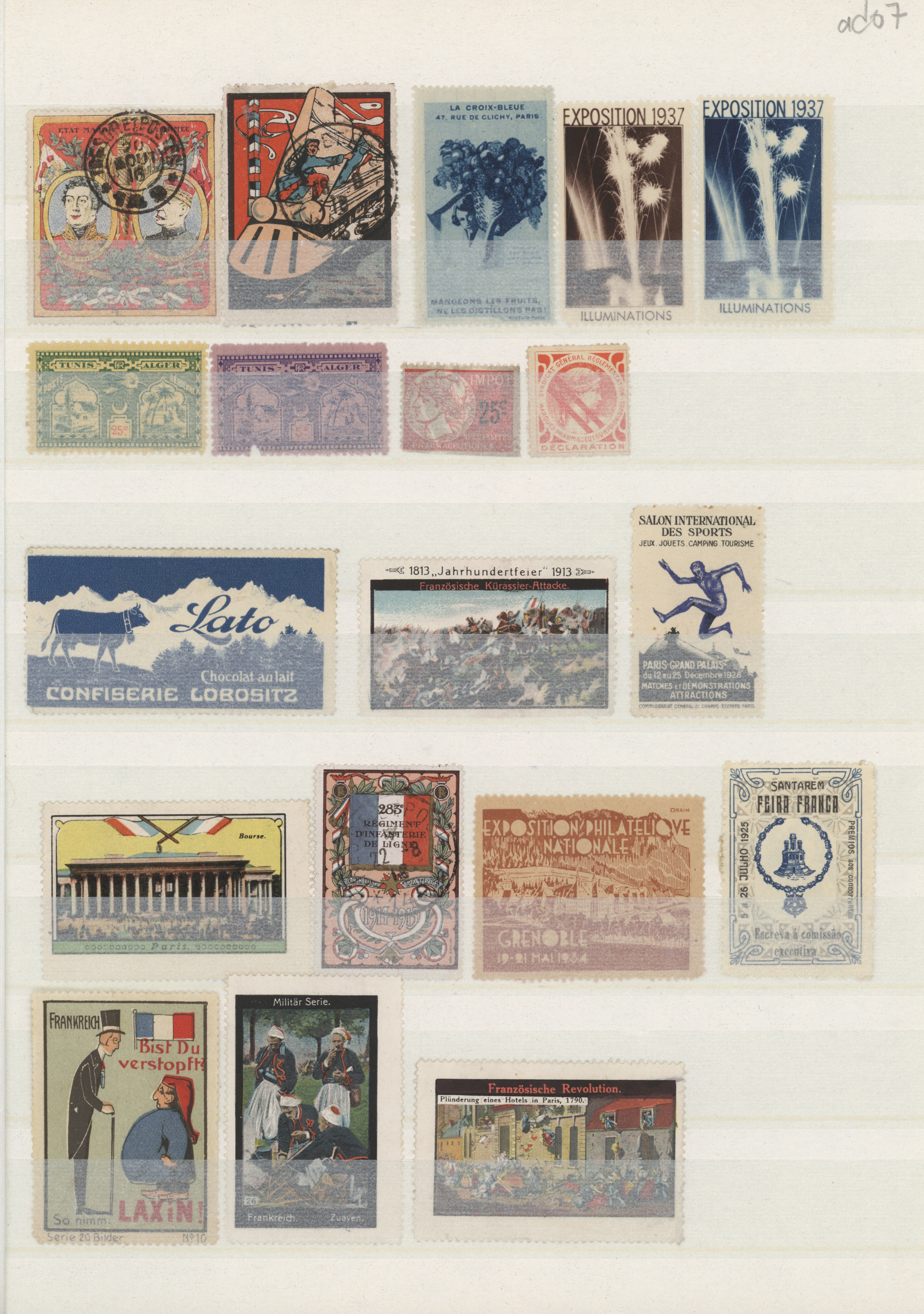 Lot 34912 - frankreich  -  Auktionshaus Christoph Gärtner GmbH & Co. KG Sale #44 Collections Germany