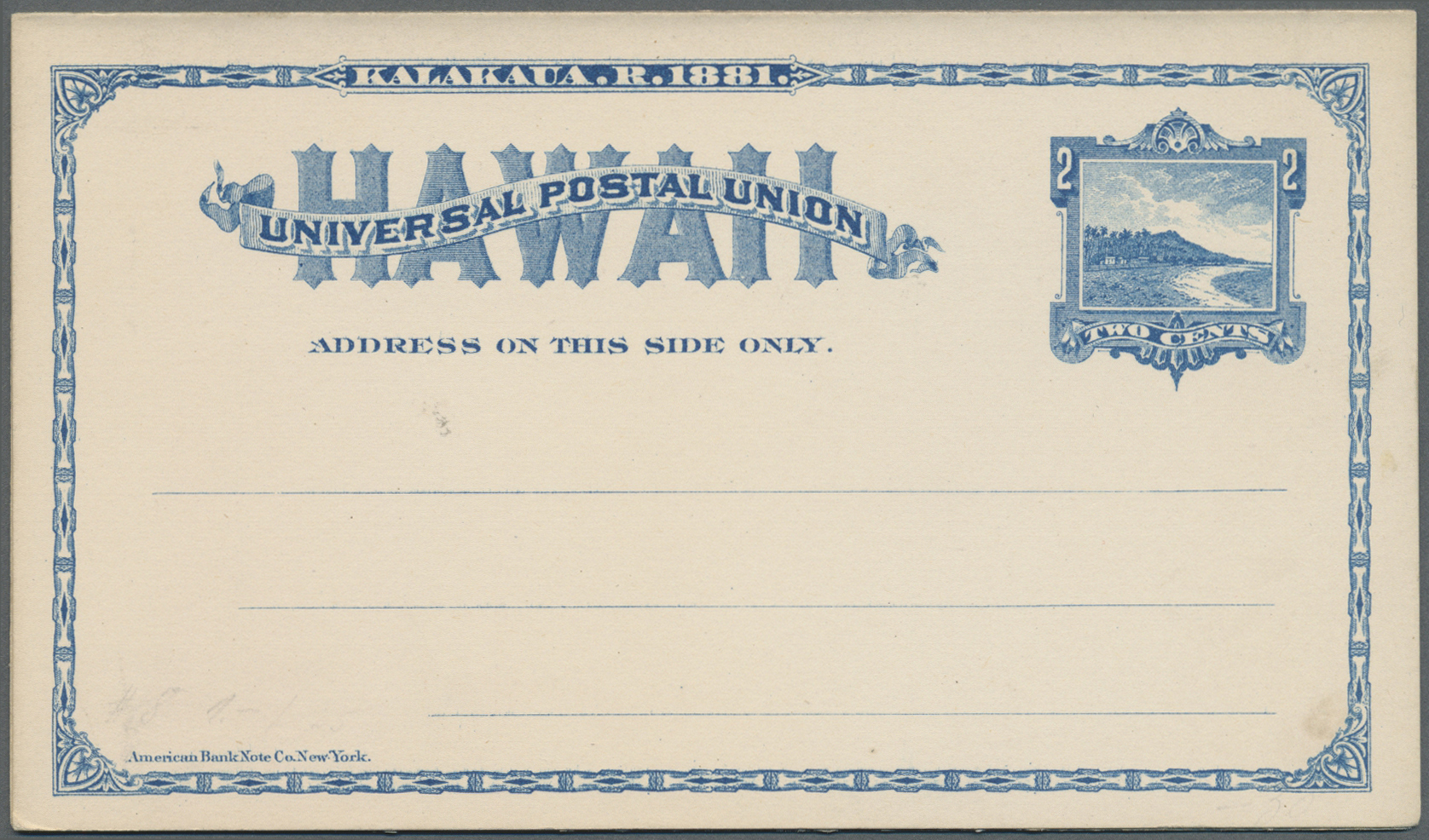 Lot 13844 - Hawaii - Ganzsachen  -  Auktionshaus Christoph Gärtner GmbH & Co. KG Single lots Philately Overseas & Europe. Auction #39 Day 4