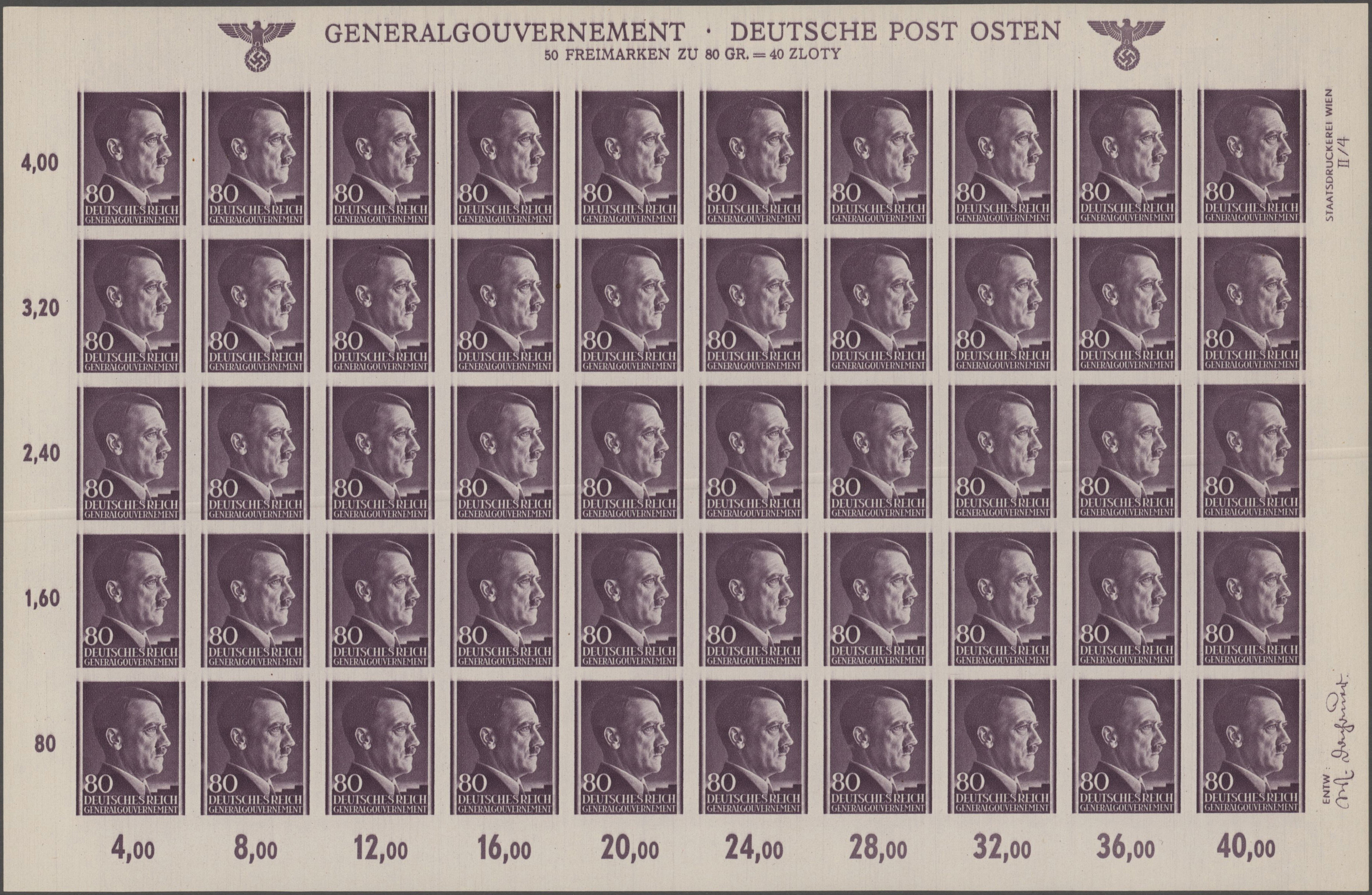 Lot 16763 - Dt. Besetzung II WK - Generalgouvernement  -  Auktionshaus Christoph Gärtner GmbH & Co. KG Sale #47 Single lots: Germany, Picture Postcards