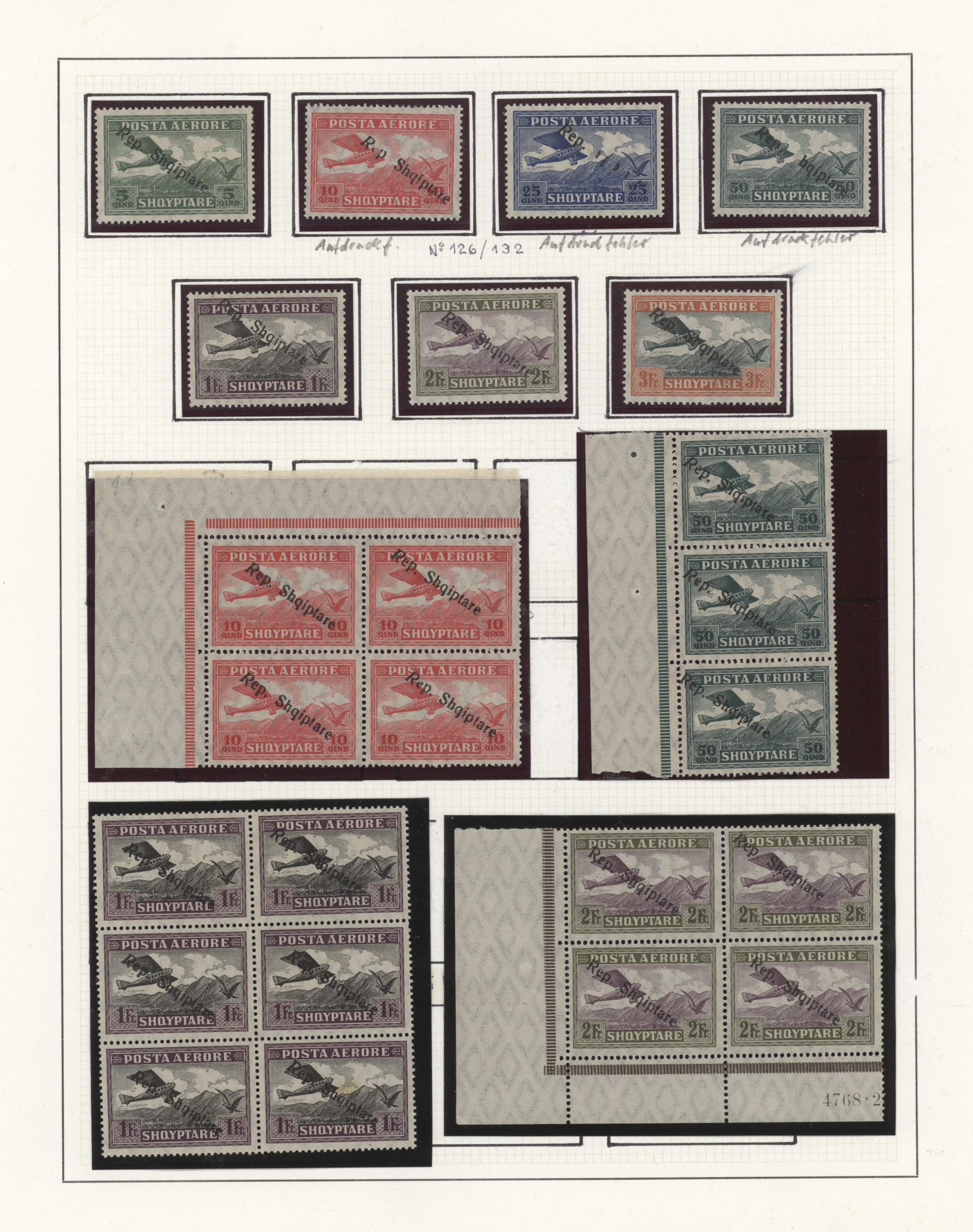 Lot 34896 - albanien  -  Auktionshaus Christoph Gärtner GmbH & Co. KG Sale #44 Collections Germany