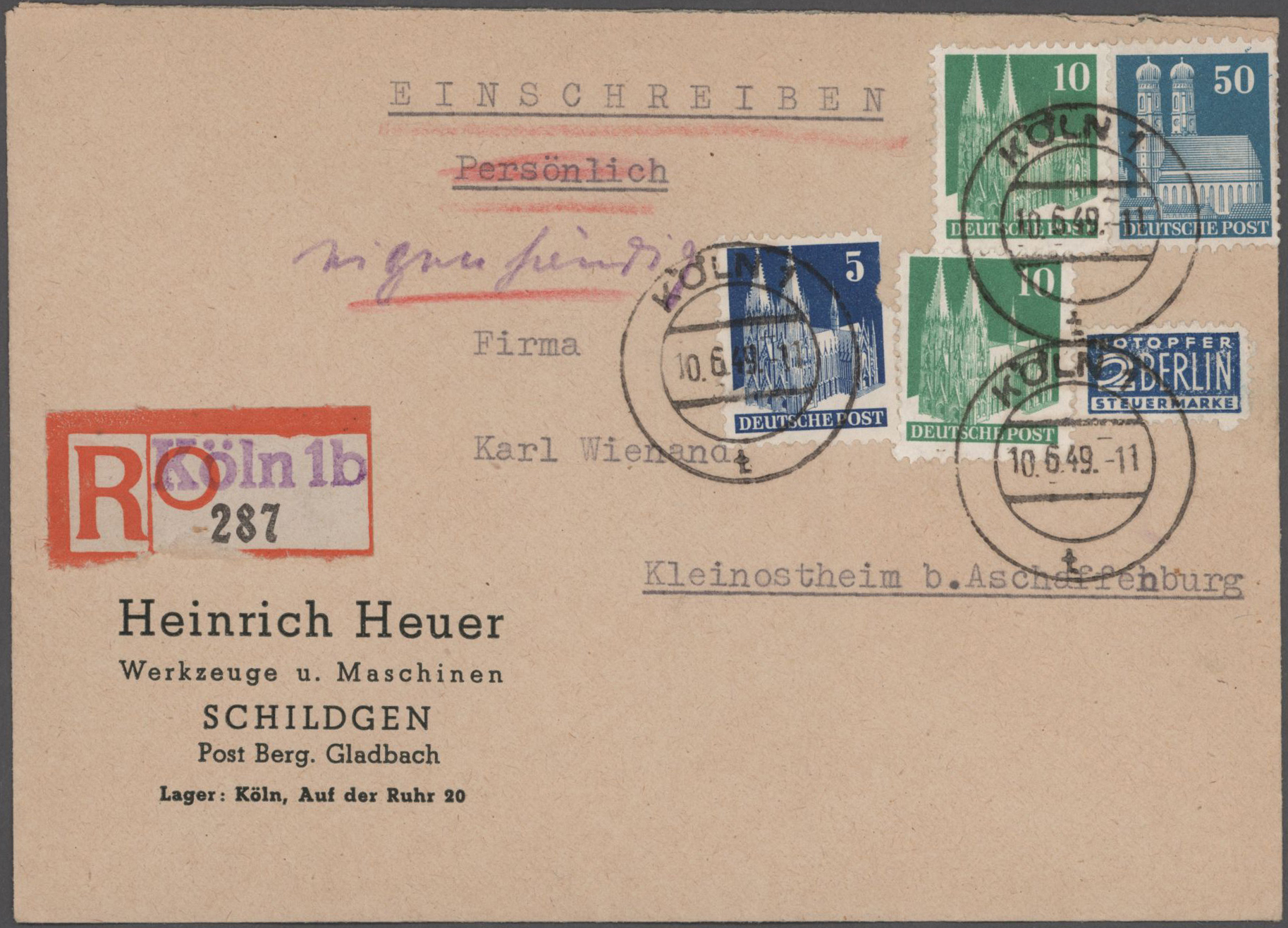 Lot 26115 - nachlässe  -  Auktionshaus Christoph Gärtner GmbH & Co. KG Sale #46 Gollcetions Germany - including the suplement
