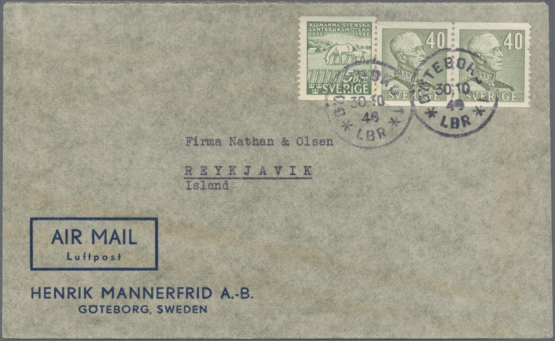 Lot 35037 - schweden  -  Auktionshaus Christoph Gärtner GmbH & Co. KG Sale #44 Collections Germany