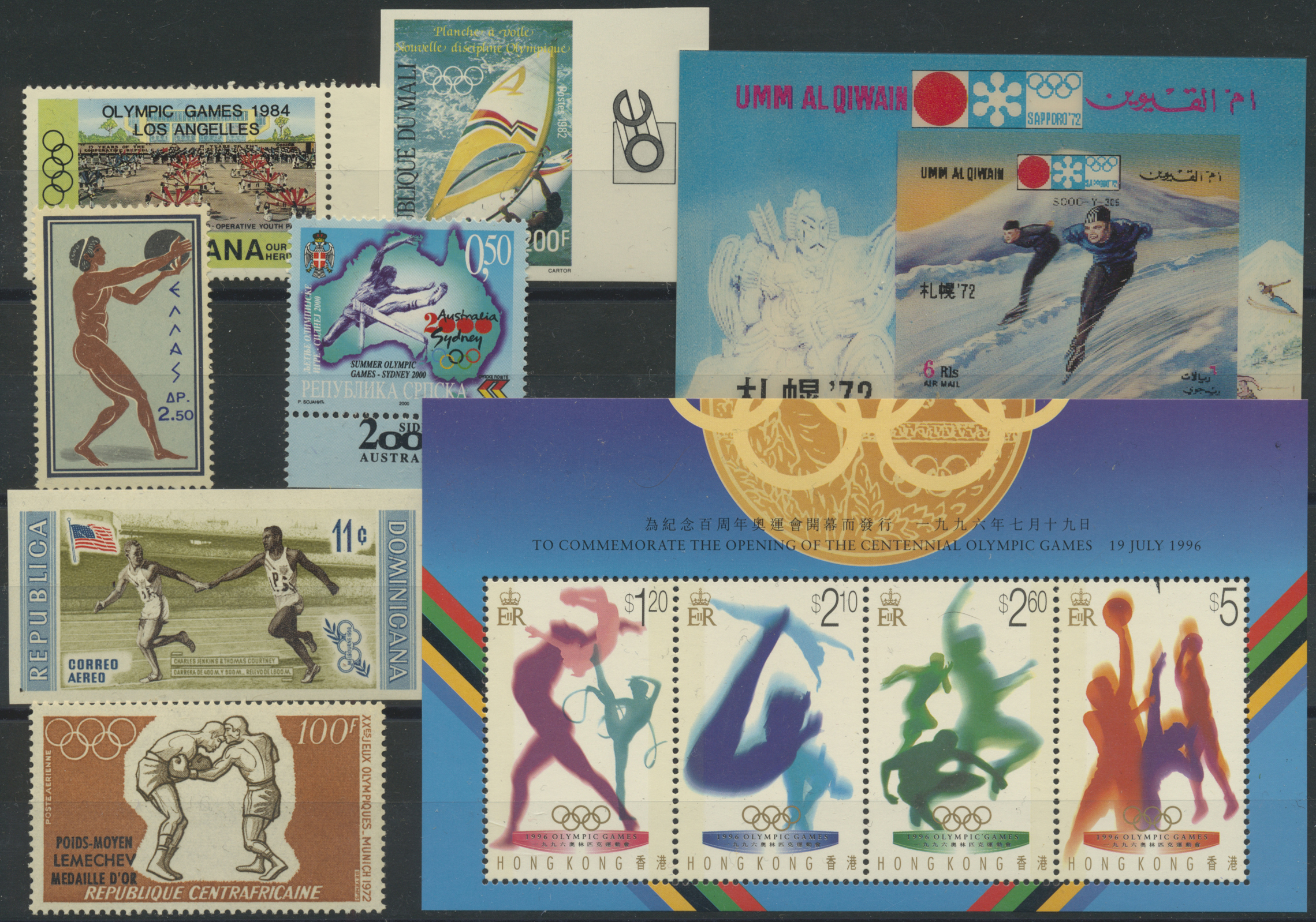 Lot 06469 - thematik: olympische spiele / olympic games  -  Auktionshaus Christoph Gärtner GmbH & Co. KG Special Auction 26.- 28. May 2020 Day 3 Collections - Thematics and Picture Post Cards