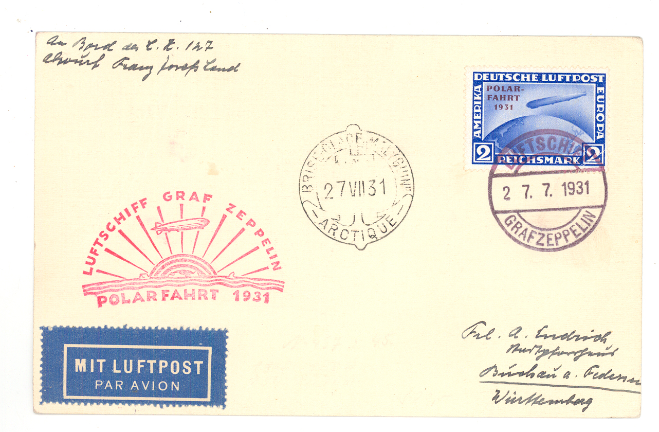 Lot 13190 - zeppelinpost deutschland  -  Auktionshaus Christoph Gärtner GmbH & Co. KG Sale #47 Single lots: Asia, Thematics, Overseas, Europe
