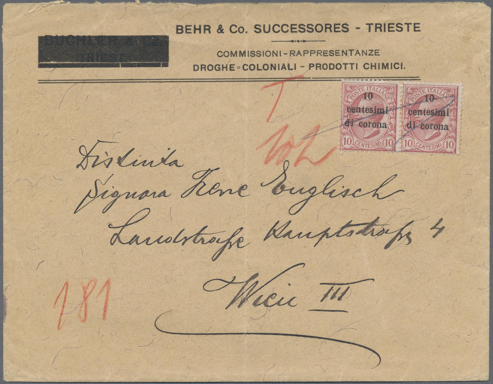 Lot 35085 - Triest - Besonderheiten  -  Auktionshaus Christoph Gärtner GmbH & Co. KG Sale #44 Collections Germany