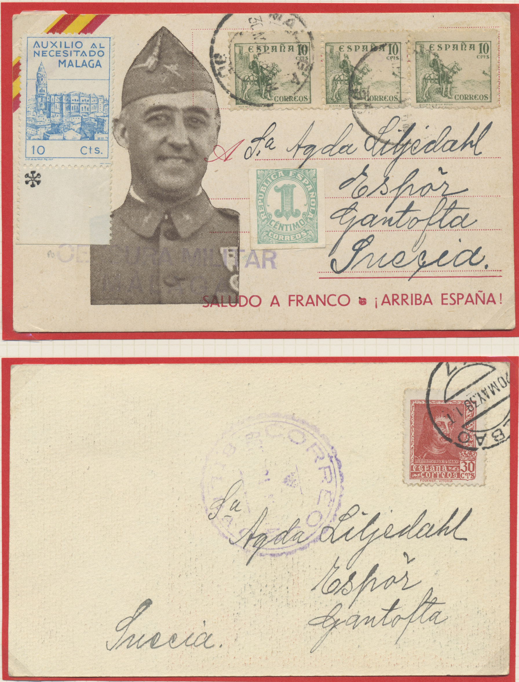 Lot 35245 - zensurpost  -  Auktionshaus Christoph Gärtner GmbH & Co. KG Sale #44 Collections Germany