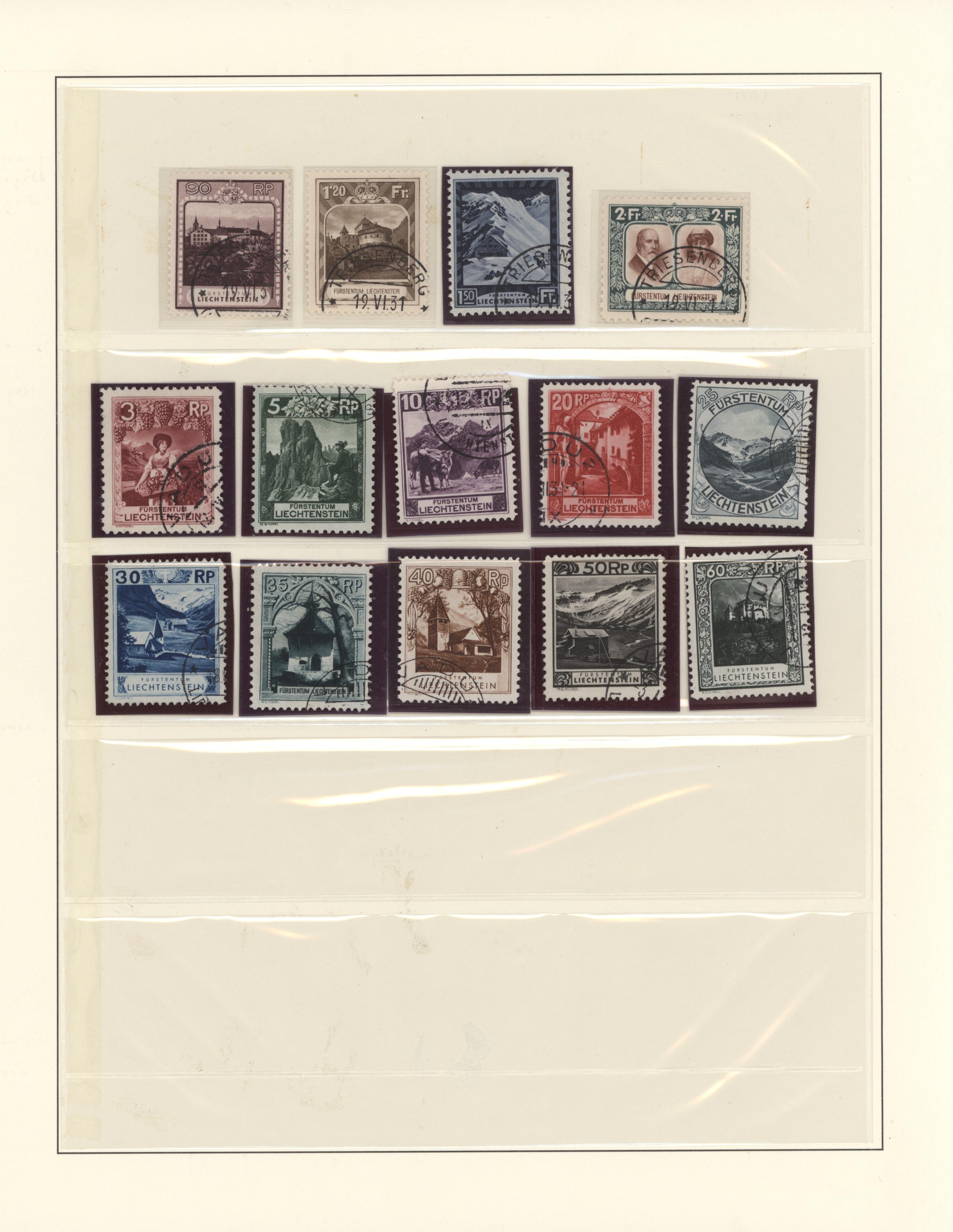 Lot 25605 - Liechtenstein  -  Auktionshaus Christoph Gärtner GmbH & Co. KG 50th Auction Anniversary Auction - Day 6