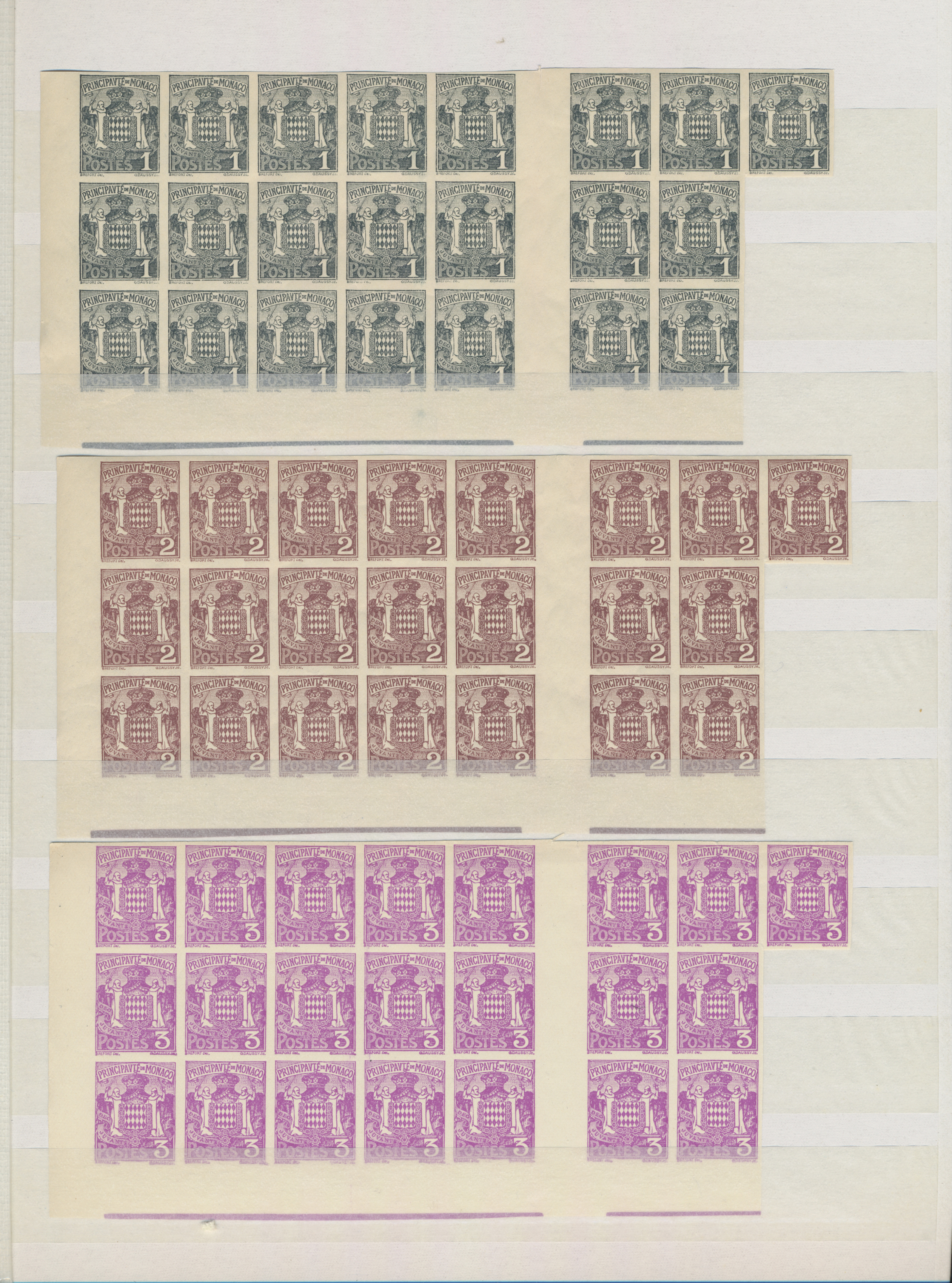 Lot 18844 - Monaco  -  Auktionshaus Christoph Gärtner GmbH & Co. KG 50th Auction Anniversary Auction - Day 5