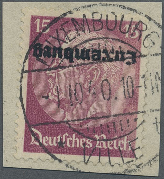 Lot 1667 - Dt. Besetzung II WK - Luxemburg  -   Auction #211