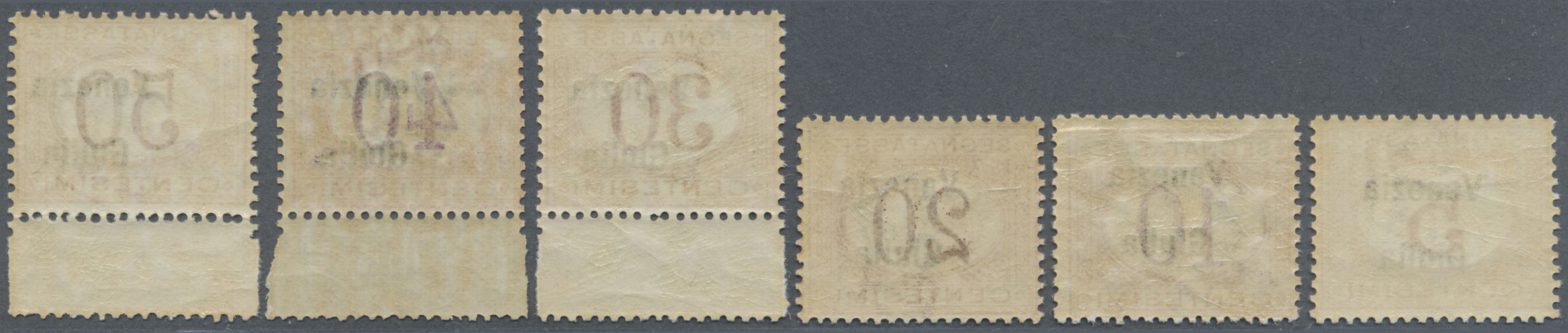 Lot 17132 - Italienische Besetzung 1918/23 - Julisch-Venetien - Portomarken  -  Auktionshaus Christoph Gärtner GmbH & Co. KG Single lots Philately Overseas & Europe. Auction #39 Day 4
