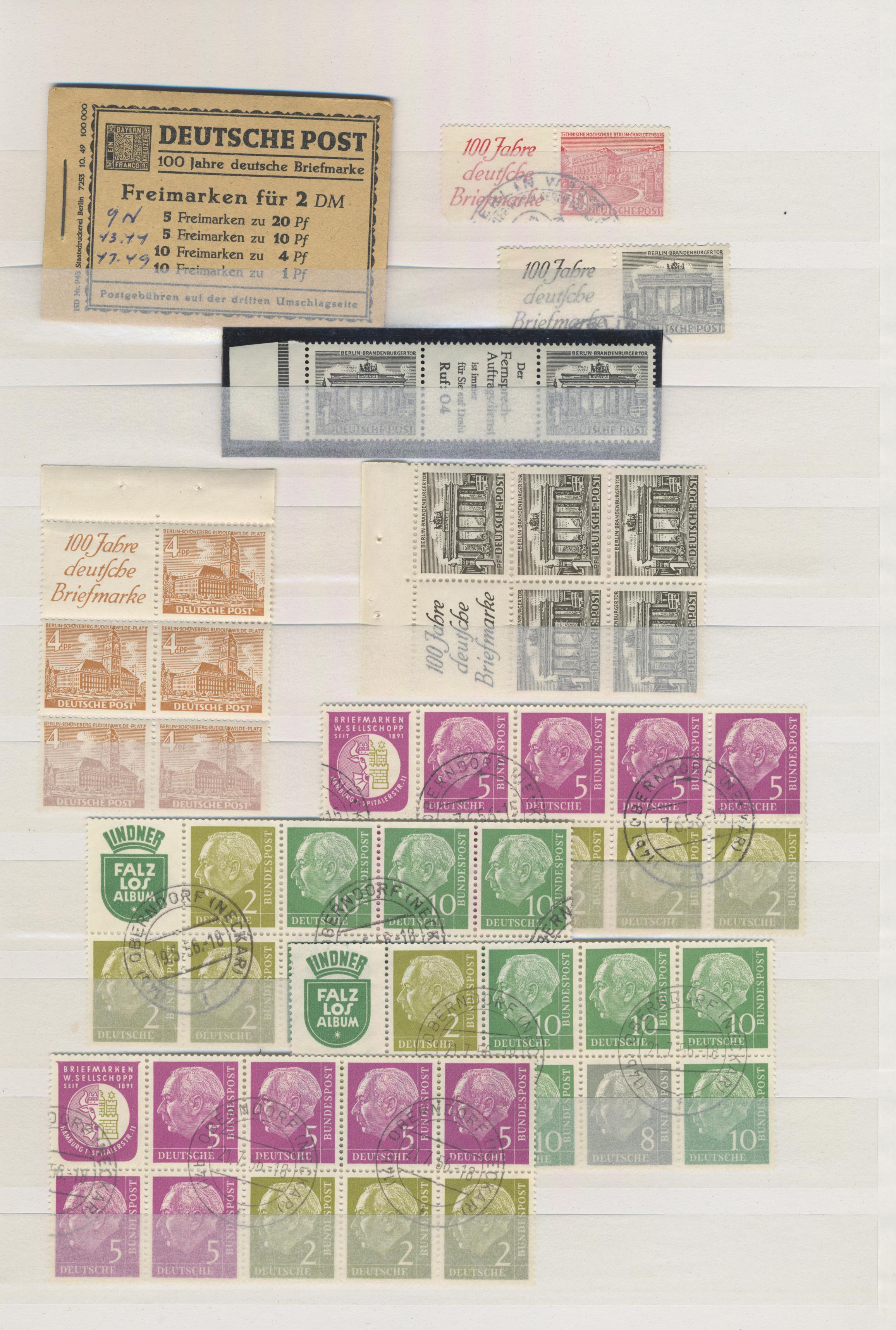 Lot 21148 - deutschland nach 1945  -  Auktionshaus Christoph Gärtner GmbH & Co. KG Sale #48 Estates, supplement Germany before & after 1945
