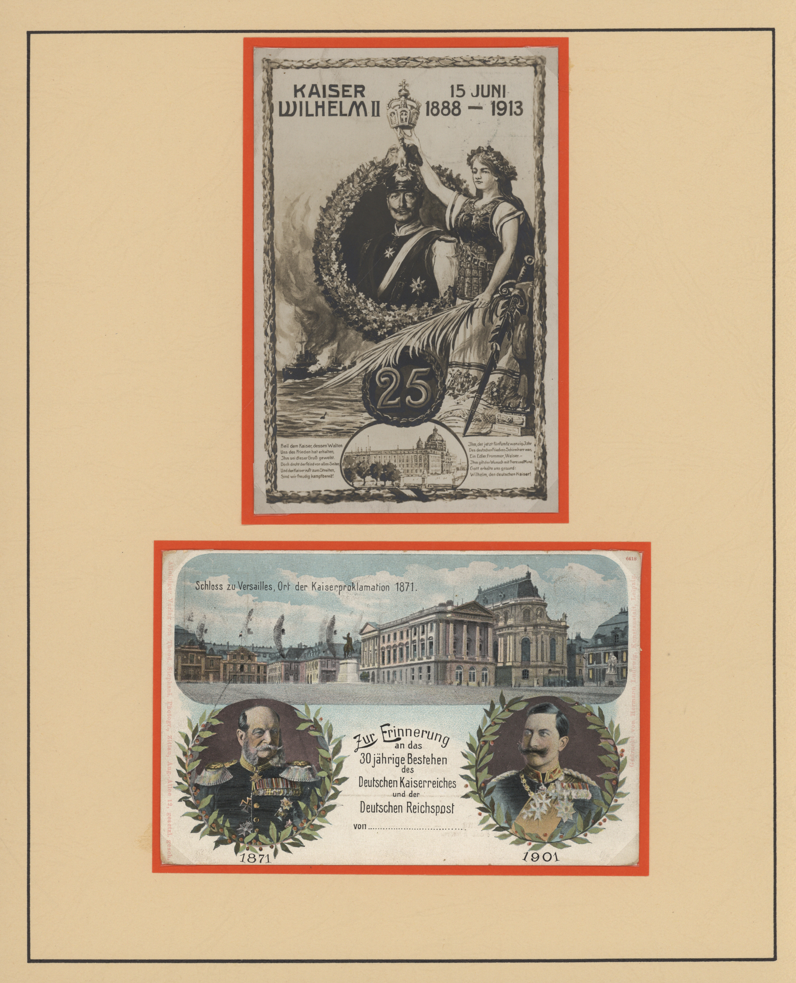 Lot 21340 - ansichtskarten: politik / politics  -  Auktionshaus Christoph Gärtner GmbH & Co. KG Auction #40 Germany, Picture Post Cards, Collections Overseas, Thematics