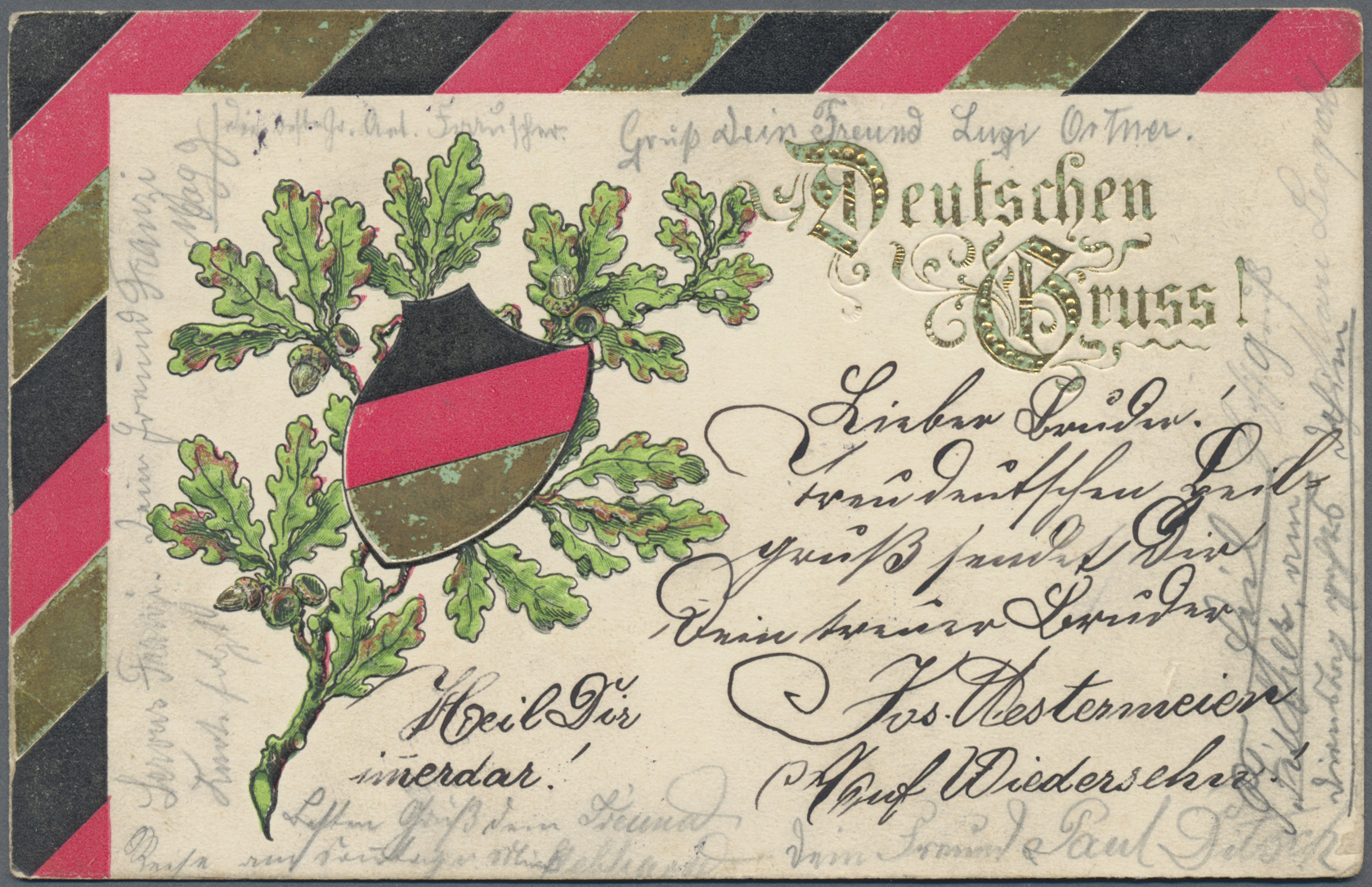 Lot 03987 - ansichtskarten: politik / politics  -  Auktionshaus Christoph Gärtner GmbH & Co. KG Special auction