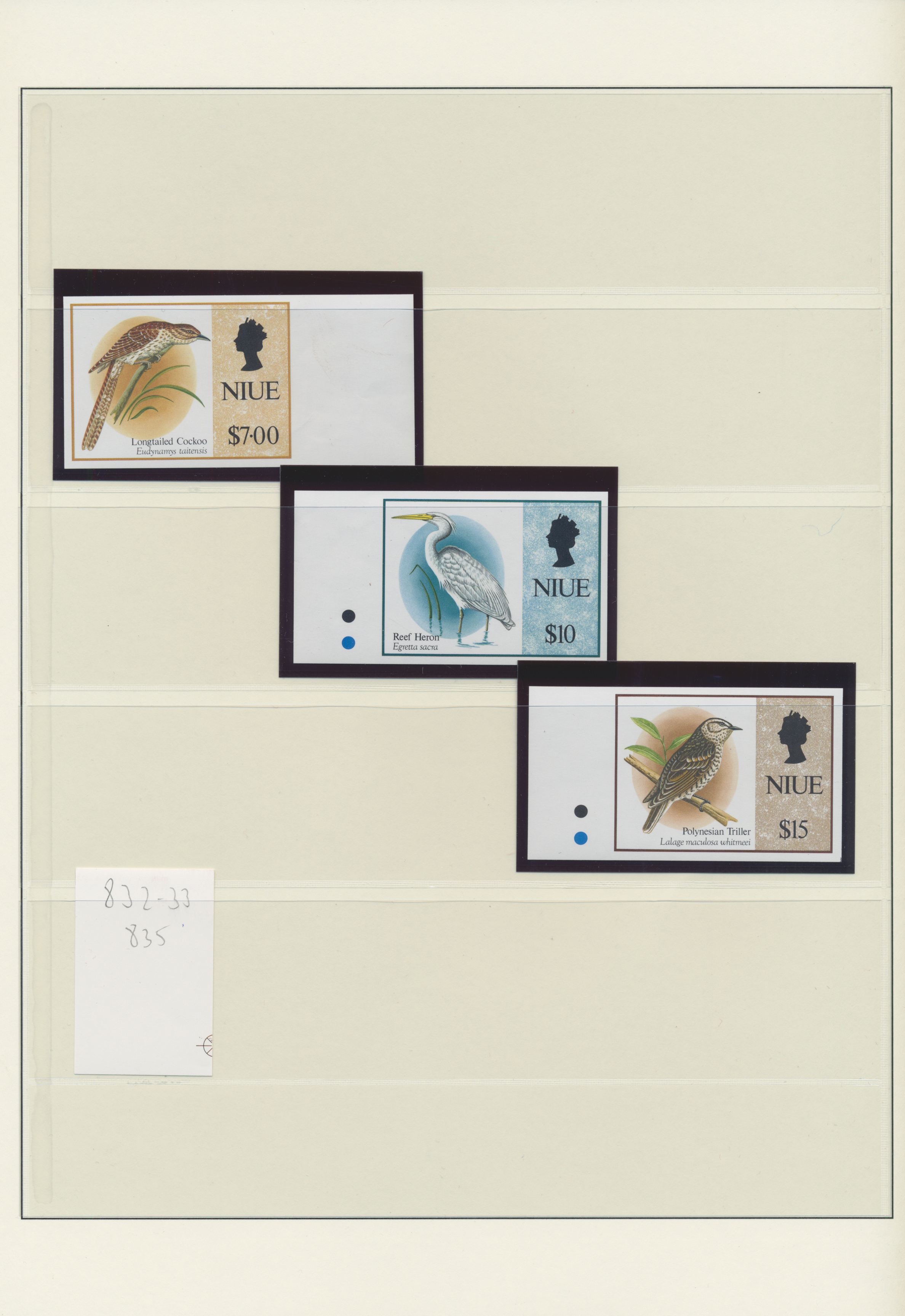 Lot 34738 - niue  -  Auktionshaus Christoph Gärtner GmbH & Co. KG Sale #44 Collections Germany