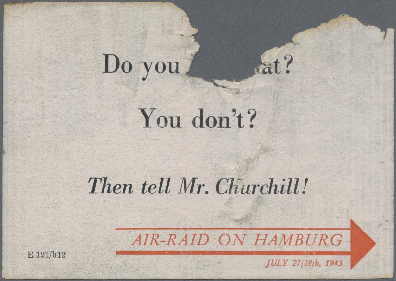 Lot 18410 - Ansichtskarten: Propaganda  -  Auktionshaus Christoph Gärtner GmbH & Co. KG Sale #47 Single lots: Germany, Picture Postcards