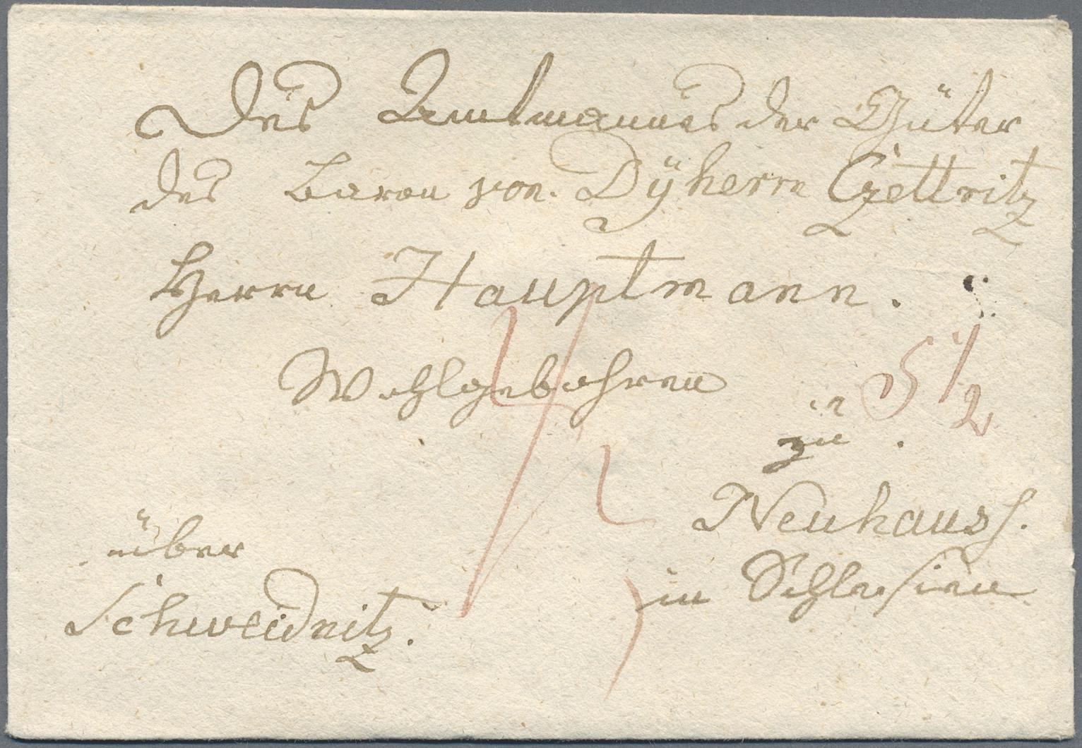 Lot 36270 - Preußen - Vorphilatelie  -  Auktionshaus Christoph Gärtner GmbH & Co. KG Sale #44 Collections Germany