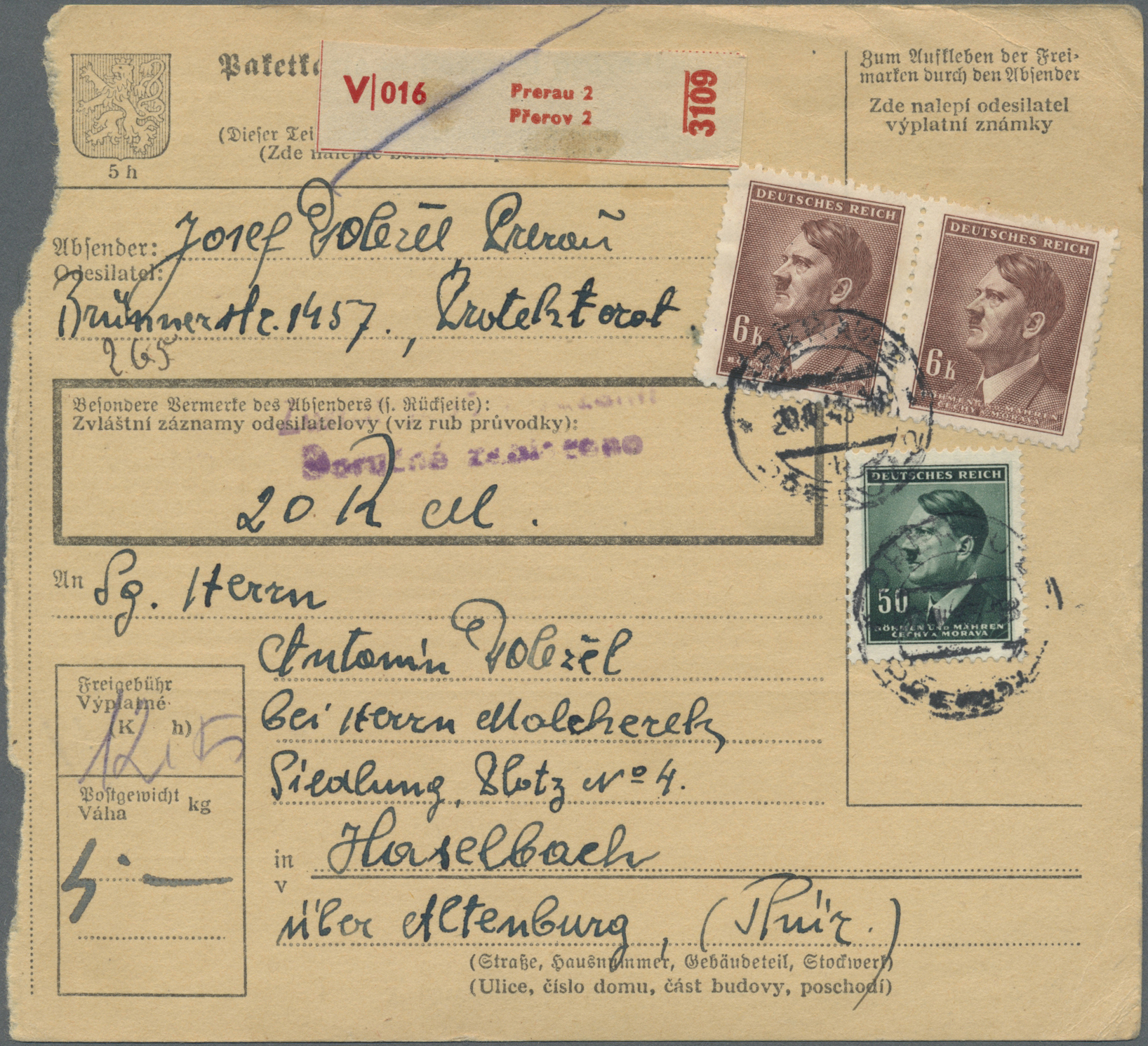 Lot 37641 - kriegsgefangenen-lagerpost  -  Auktionshaus Christoph Gärtner GmbH & Co. KG Collections Germany,  Collections Supplement, Surprise boxes #39 Day 7