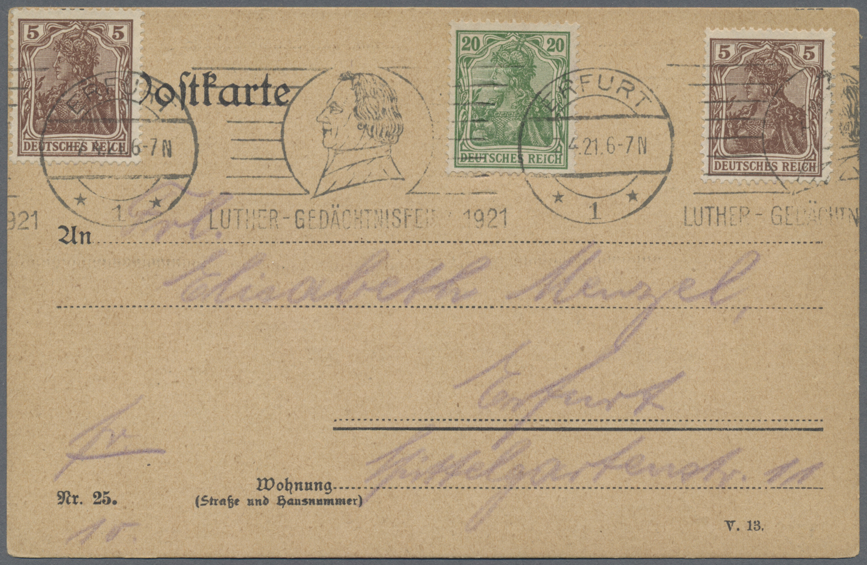 Lot 36855 - deutsches reich - stempel  -  Auktionshaus Christoph Gärtner GmbH & Co. KG Sale #44 Collections Germany