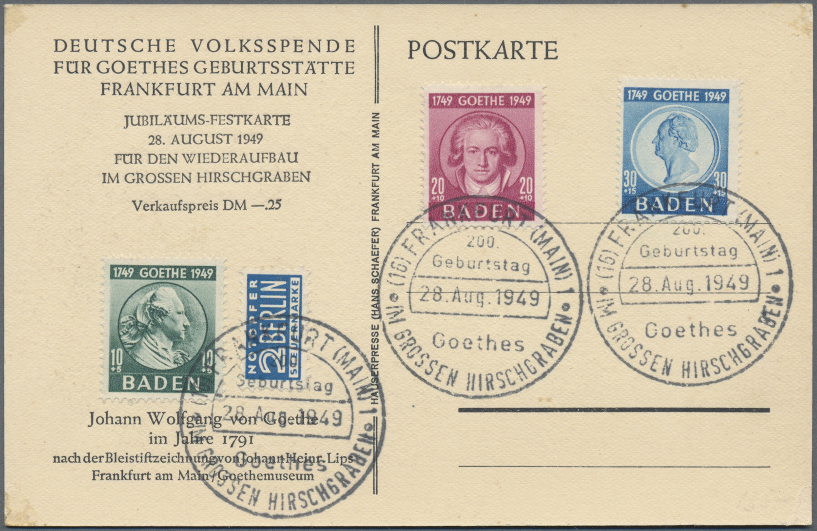 Lot 35277 - französische zone  -  Auktionshaus Christoph Gärtner GmbH & Co. KG Sale #44 Collections Germany