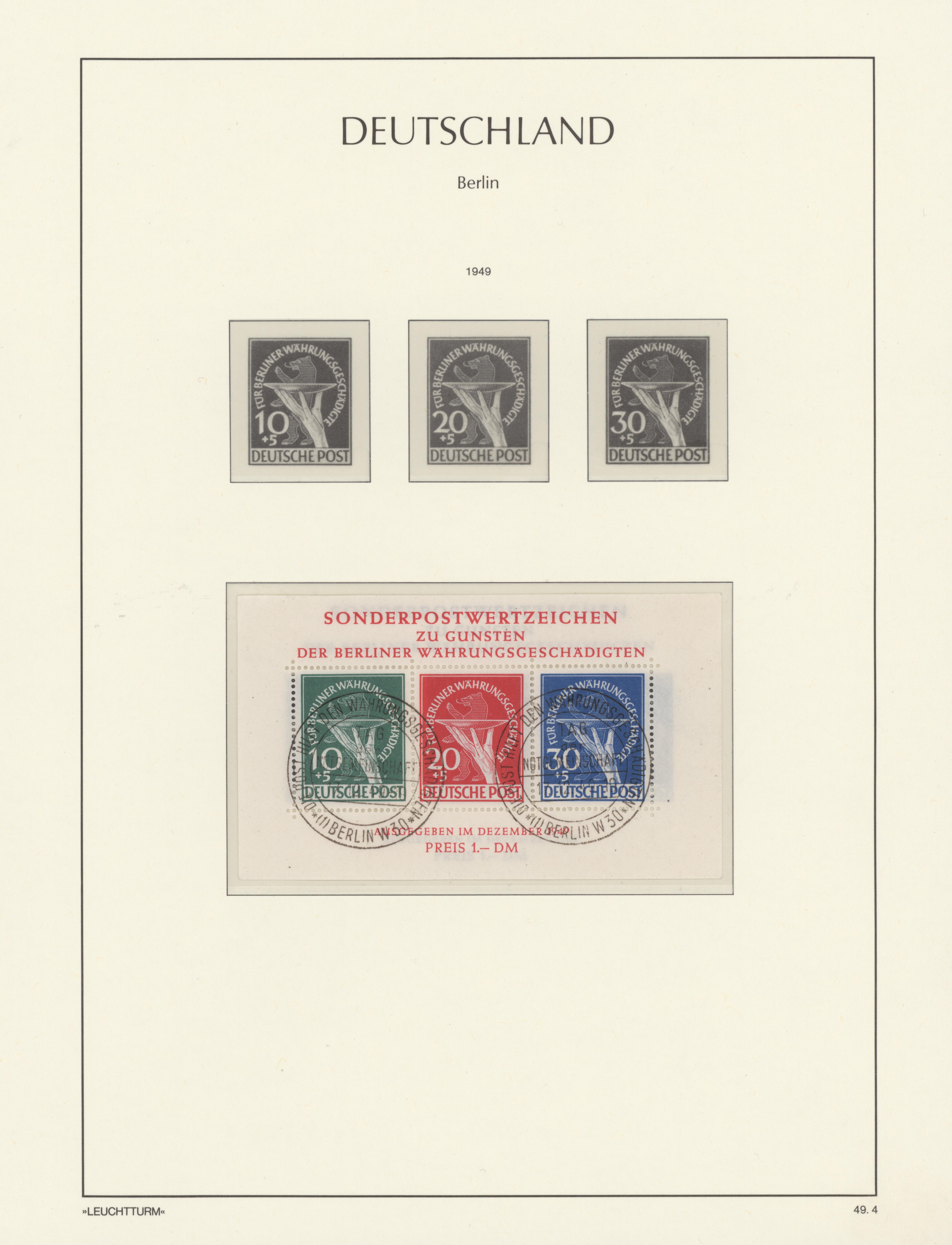 Lot 22000 - nachlässe  -  Auktionshaus Christoph Gärtner GmbH & Co. KG Sale #49 Collections Overseas, Thematics, Europe, Germany/Estates