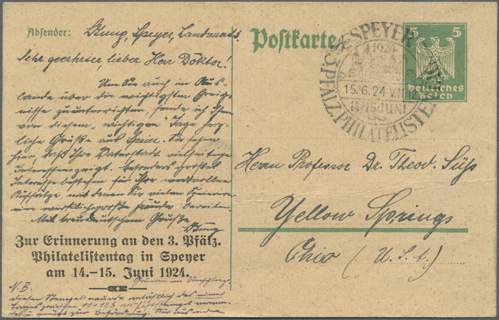 Lot 37121 - Deutsches Reich - Ganzsachen  -  Auktionshaus Christoph Gärtner GmbH & Co. KG Collections Germany,  Collections Supplement, Surprise boxes #39 Day 7