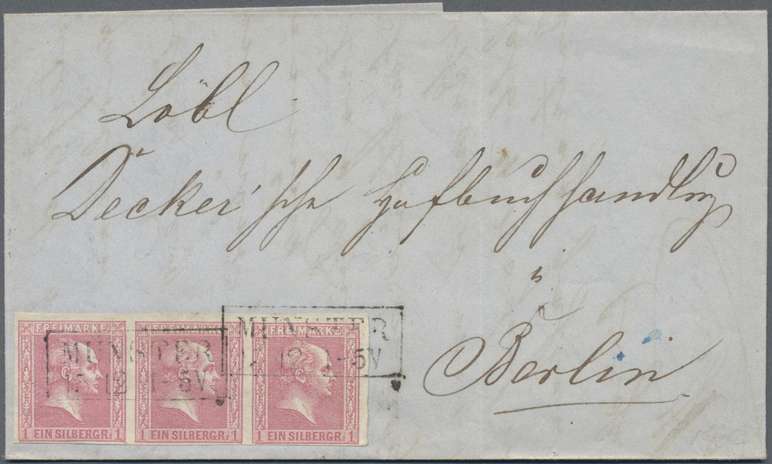 Lot 35169 - Preußen - Marken und Briefe  -  Auktionshaus Christoph Gärtner GmbH & Co. KG Sale #44 Collections Germany