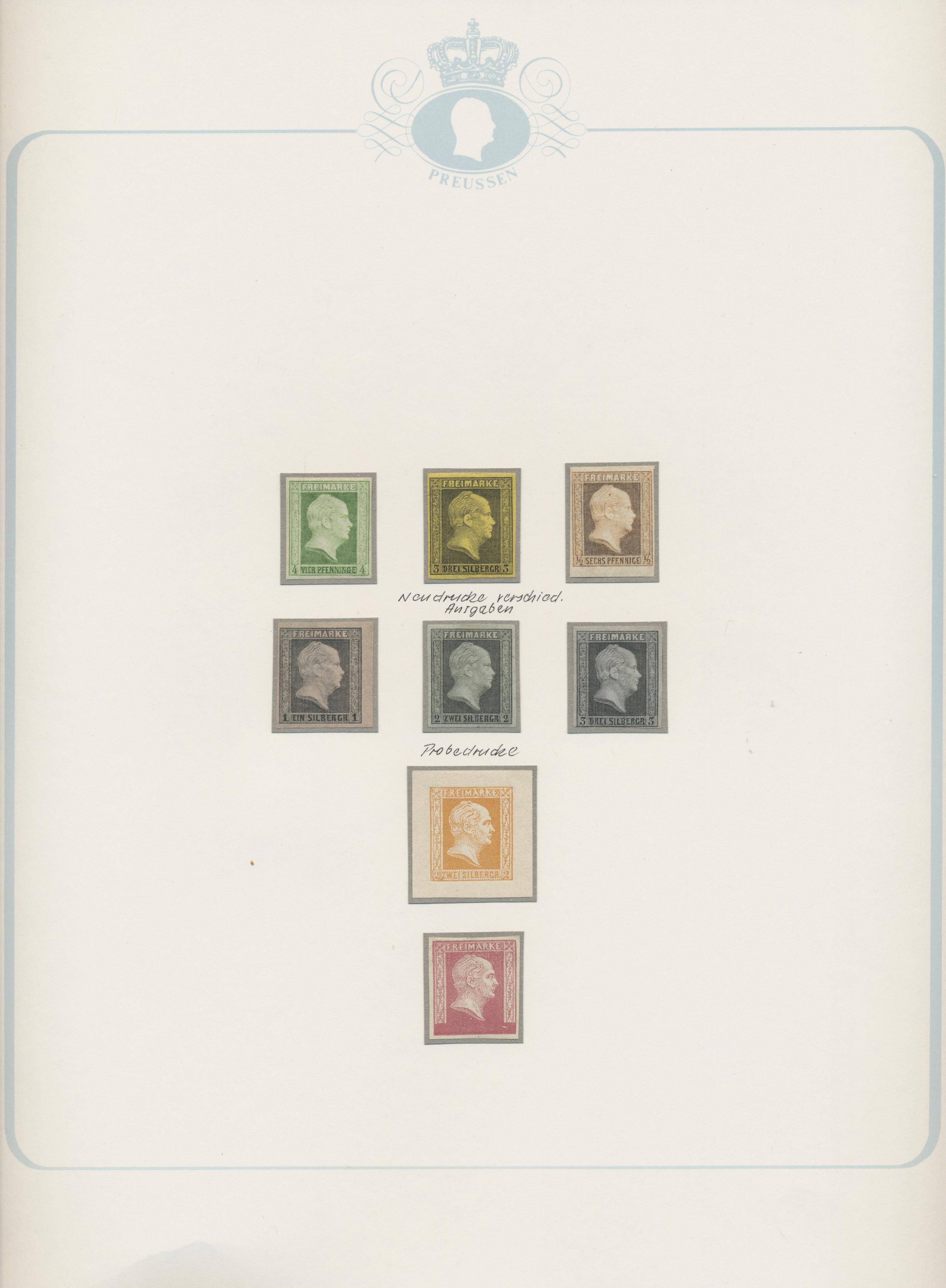 Lot 35170 - Preußen - Marken und Briefe  -  Auktionshaus Christoph Gärtner GmbH & Co. KG Sale #44 Collections Germany