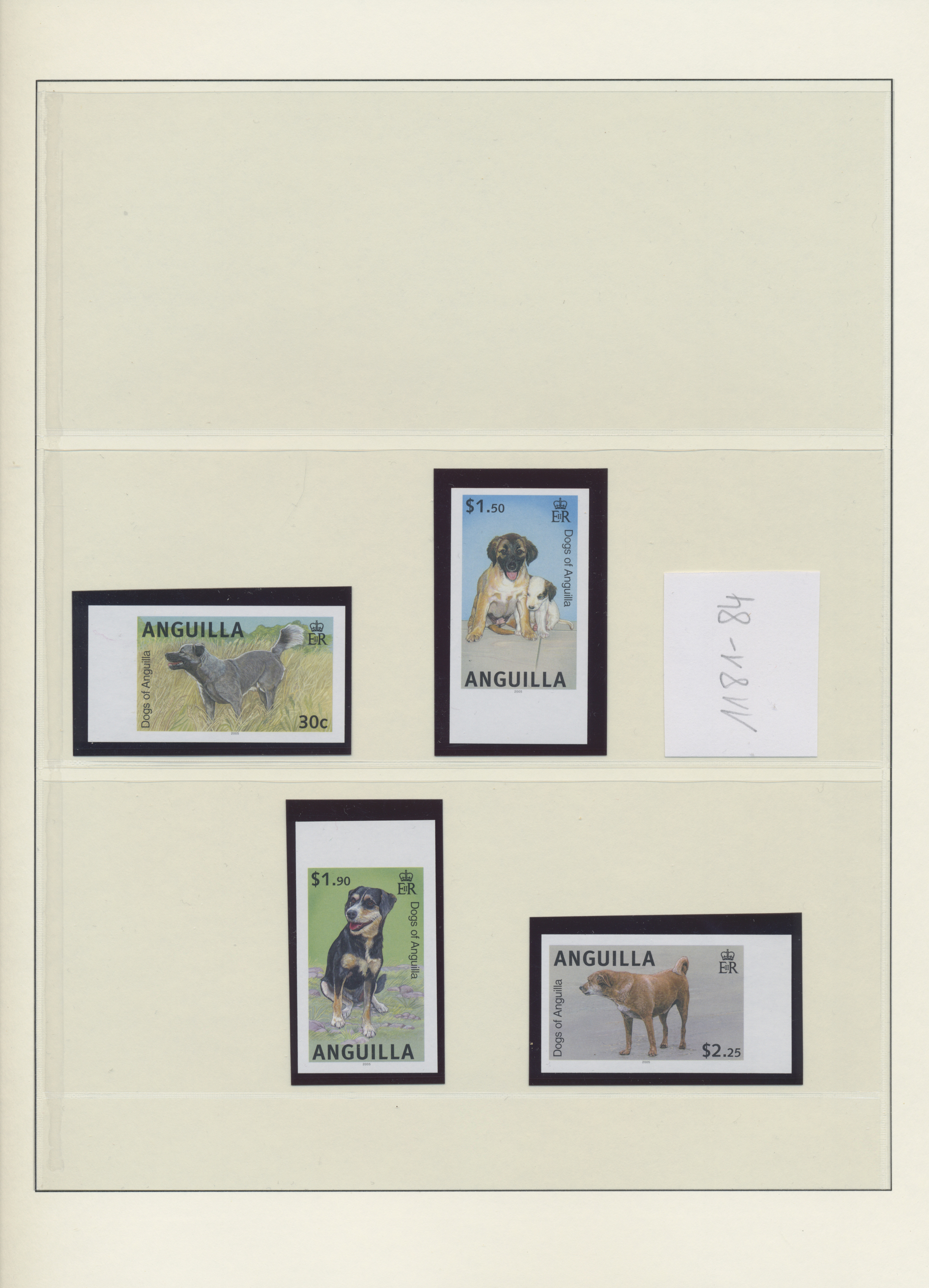Lot 34533 - anguilla  -  Auktionshaus Christoph Gärtner GmbH & Co. KG Sale #44 Collections Germany