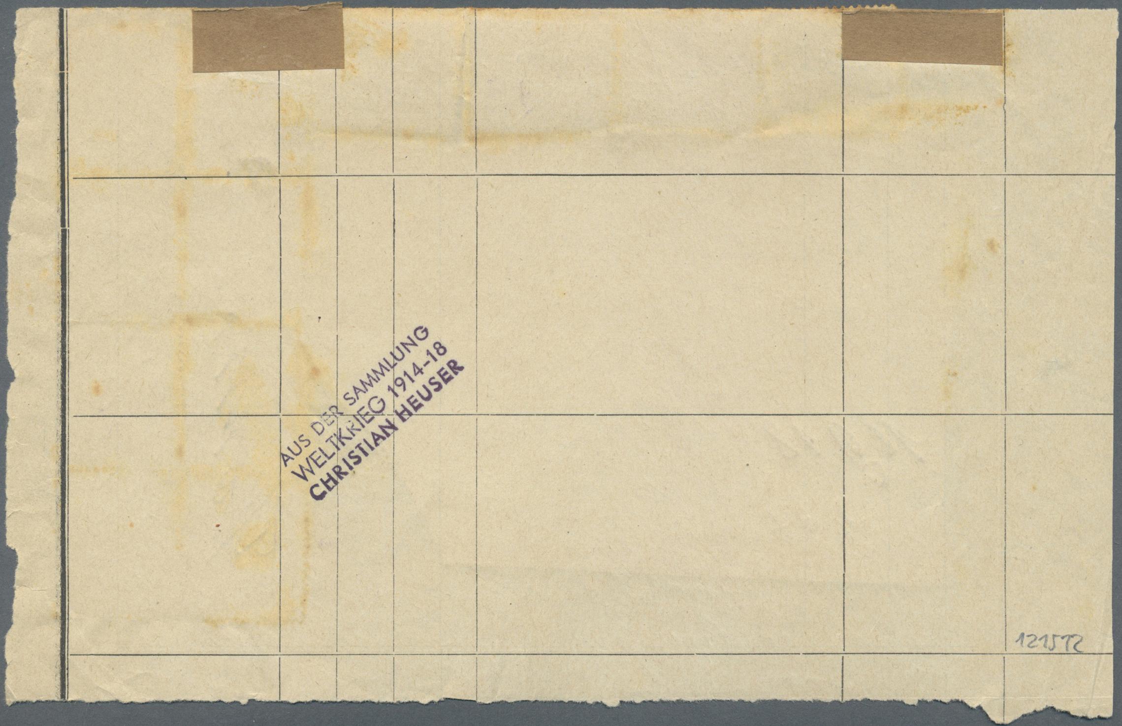Lot 11521 - Deutsche Besetzung I. WK: Postgebiet Ober. Ost  -  Auktionshaus Christoph Gärtner GmbH & Co. KG Sale #48 The Single Lots Philatelie