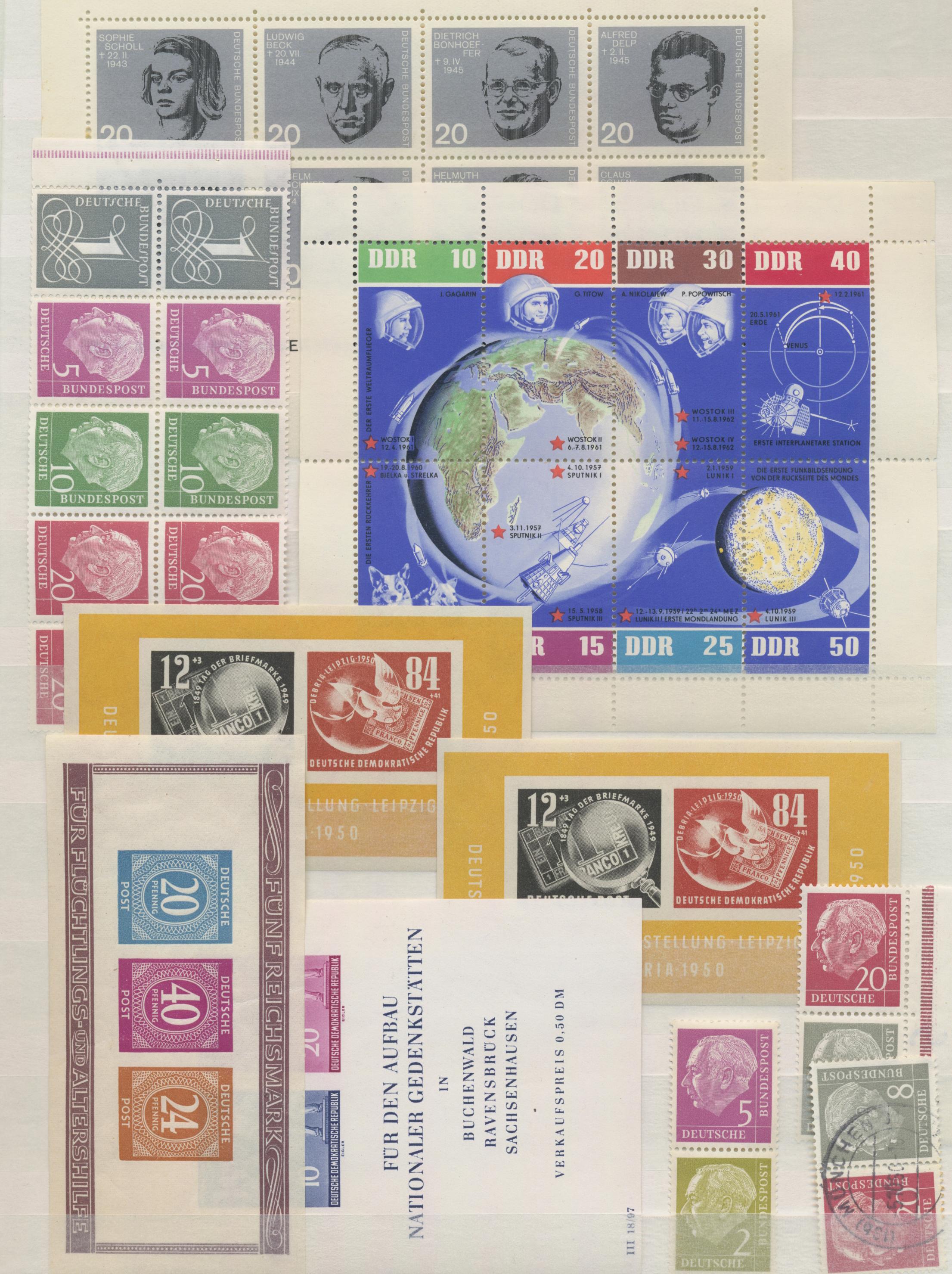 Lot 37248 - deutschland nach 1945  -  Auktionshaus Christoph Gärtner GmbH & Co. KG Sale #44 Collections Germany