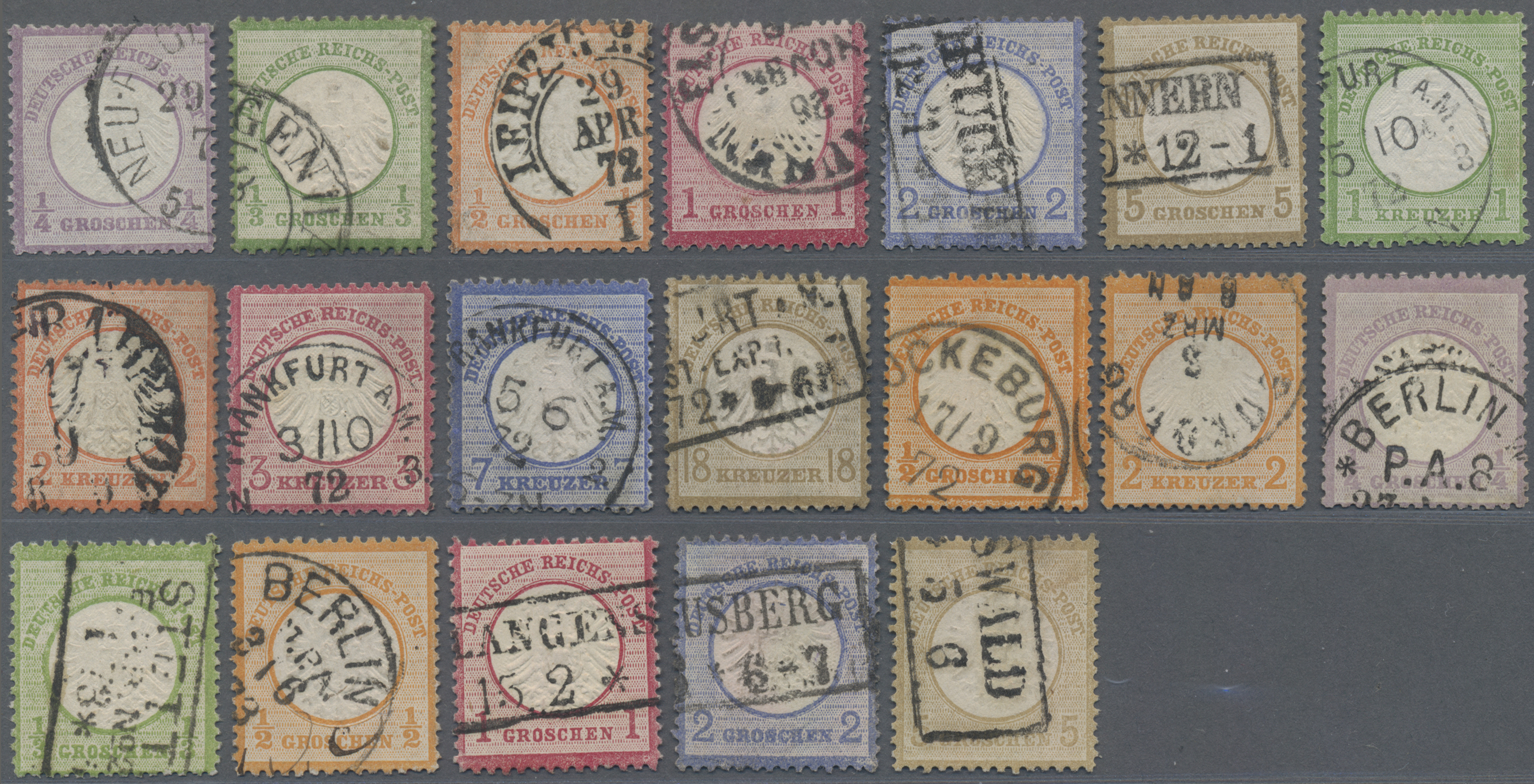 Lot 22104 - nachlässe  -  Auktionshaus Christoph Gärtner GmbH & Co. KG Sale #49 Collections Overseas, Thematics, Europe, Germany/Estates