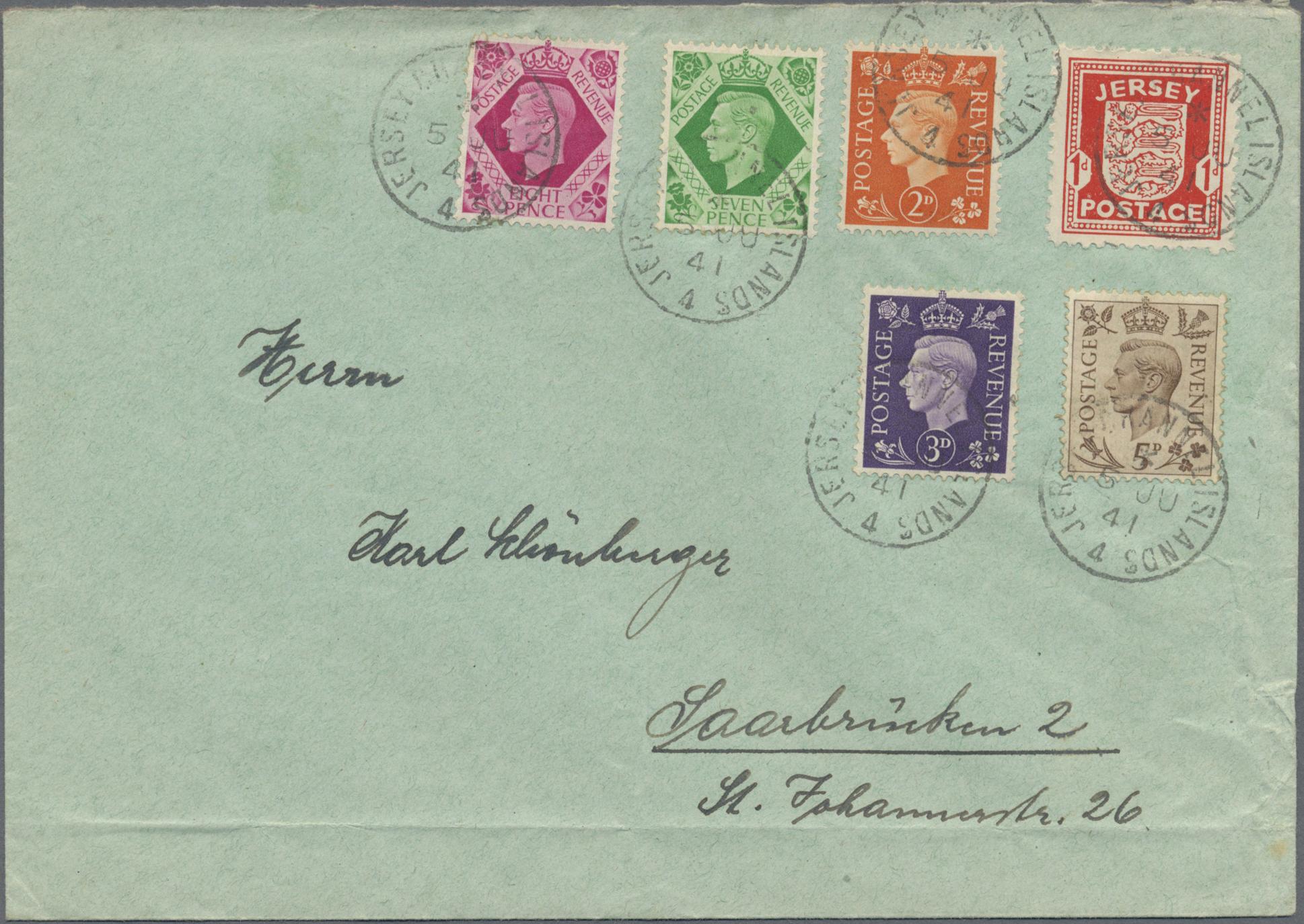 Lot 35242 - deutsche besetzung ii. wk  -  Auktionshaus Christoph Gärtner GmbH & Co. KG Sale #44 Collections Germany