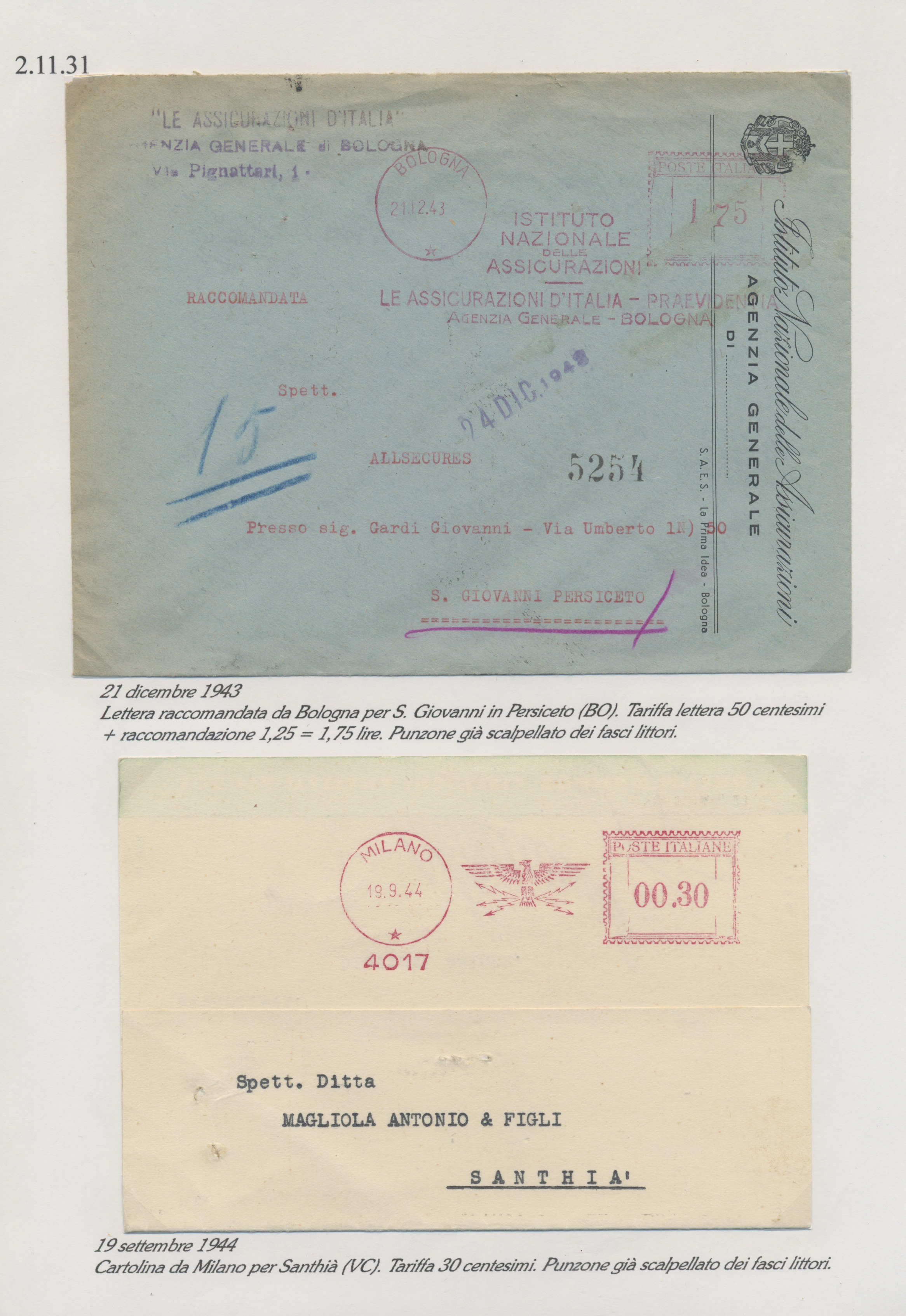 Lot 34954 - italien  -  Auktionshaus Christoph Gärtner GmbH & Co. KG Sale #44 Collections Germany