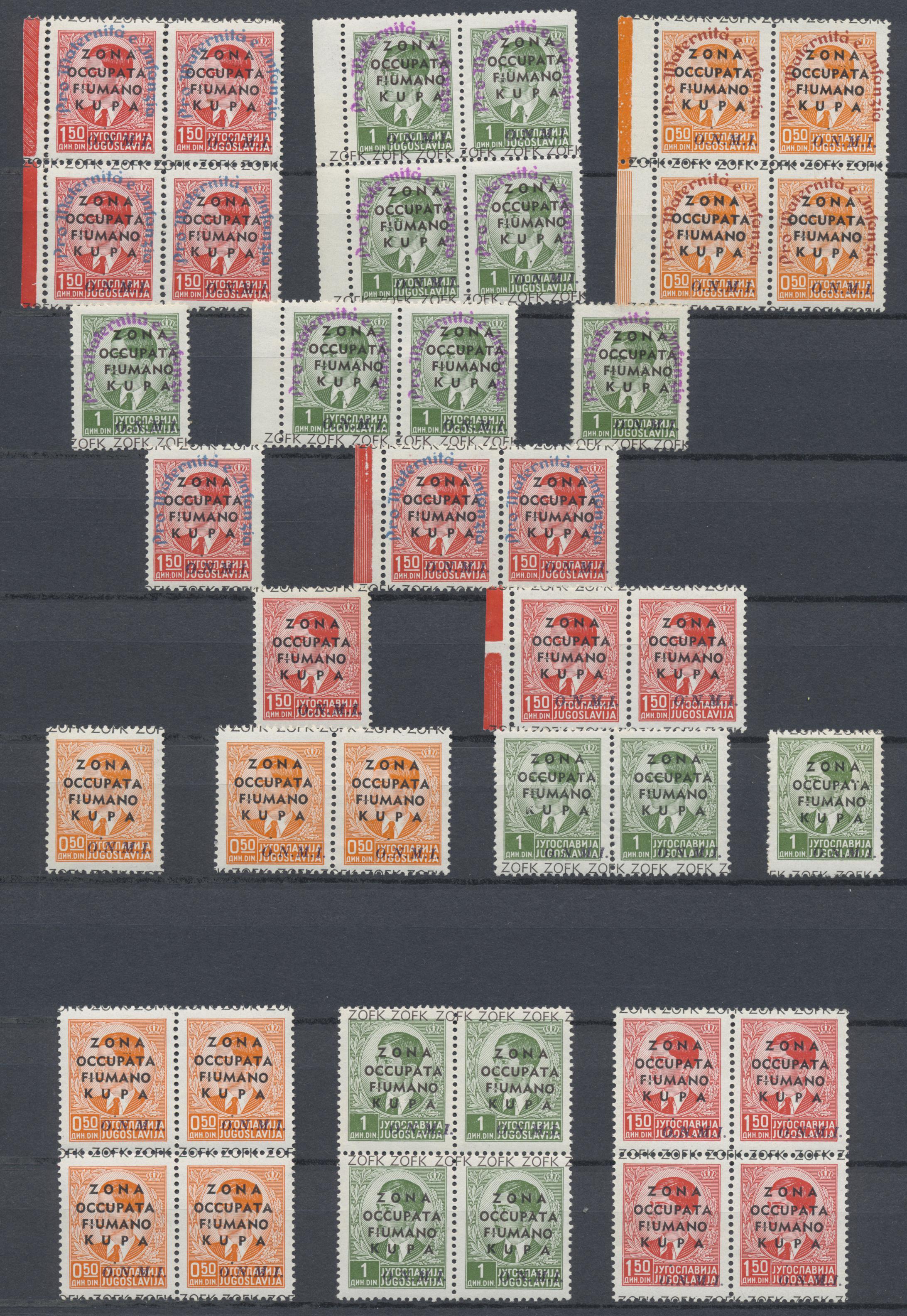 Lot 34959 - Italienische Besetzung 1941/43 - Montenegro  -  Auktionshaus Christoph Gärtner GmbH & Co. KG Sale #44 Collections Germany