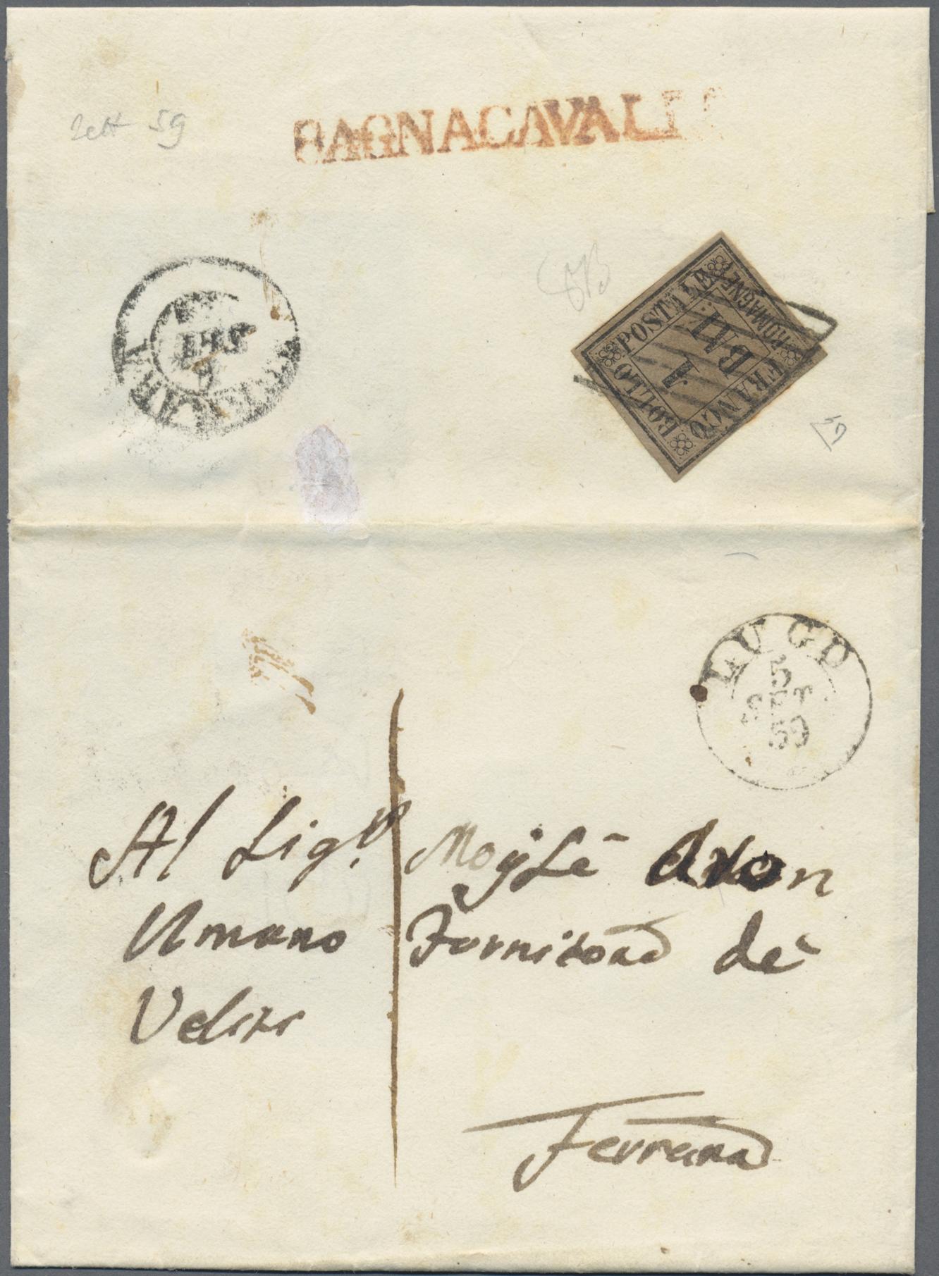 Lot 34933 - Italien - Altitalienische Staaten: Romagna  -  Auktionshaus Christoph Gärtner GmbH & Co. KG Sale #44 Collections Germany