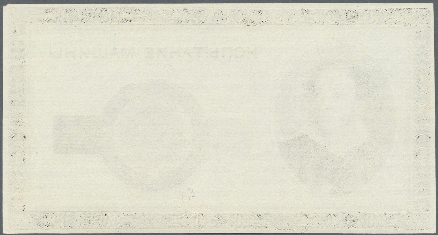 Lot 2314 - Testbanknoten | Banknoten  -  Auktionshaus Christoph Gärtner GmbH & Co. KG Banknotes & Coins Auction #39 Day 2