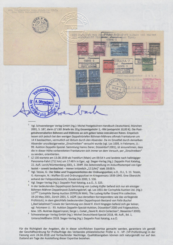 Lot 1385 - Dt. Besetzung II WK - Böhmen und Mähren  -  Auktionshaus Christoph Gärtner GmbH & Co. KG Auction #41 Special auction part two