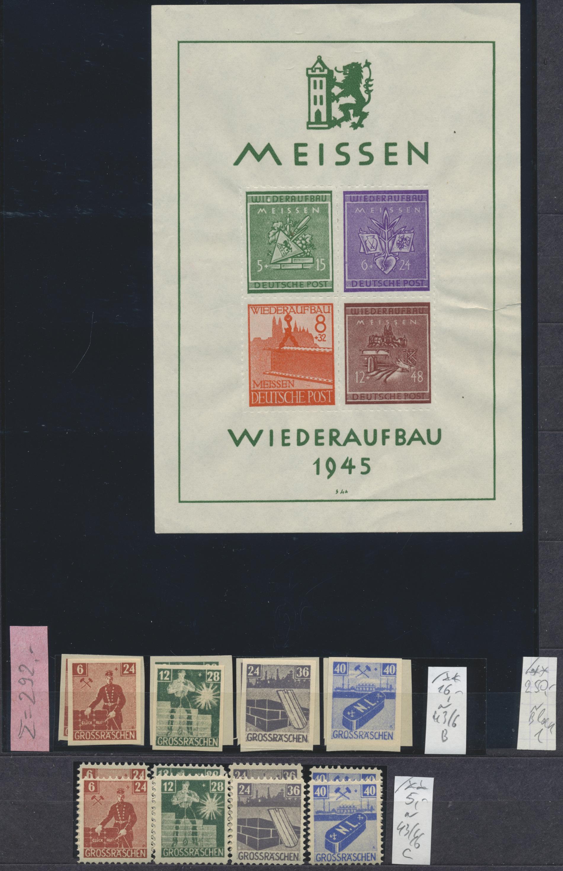 Lot 35257 - deutsche lokalausgaben ab 1945  -  Auktionshaus Christoph Gärtner GmbH & Co. KG Sale #44 Collections Germany