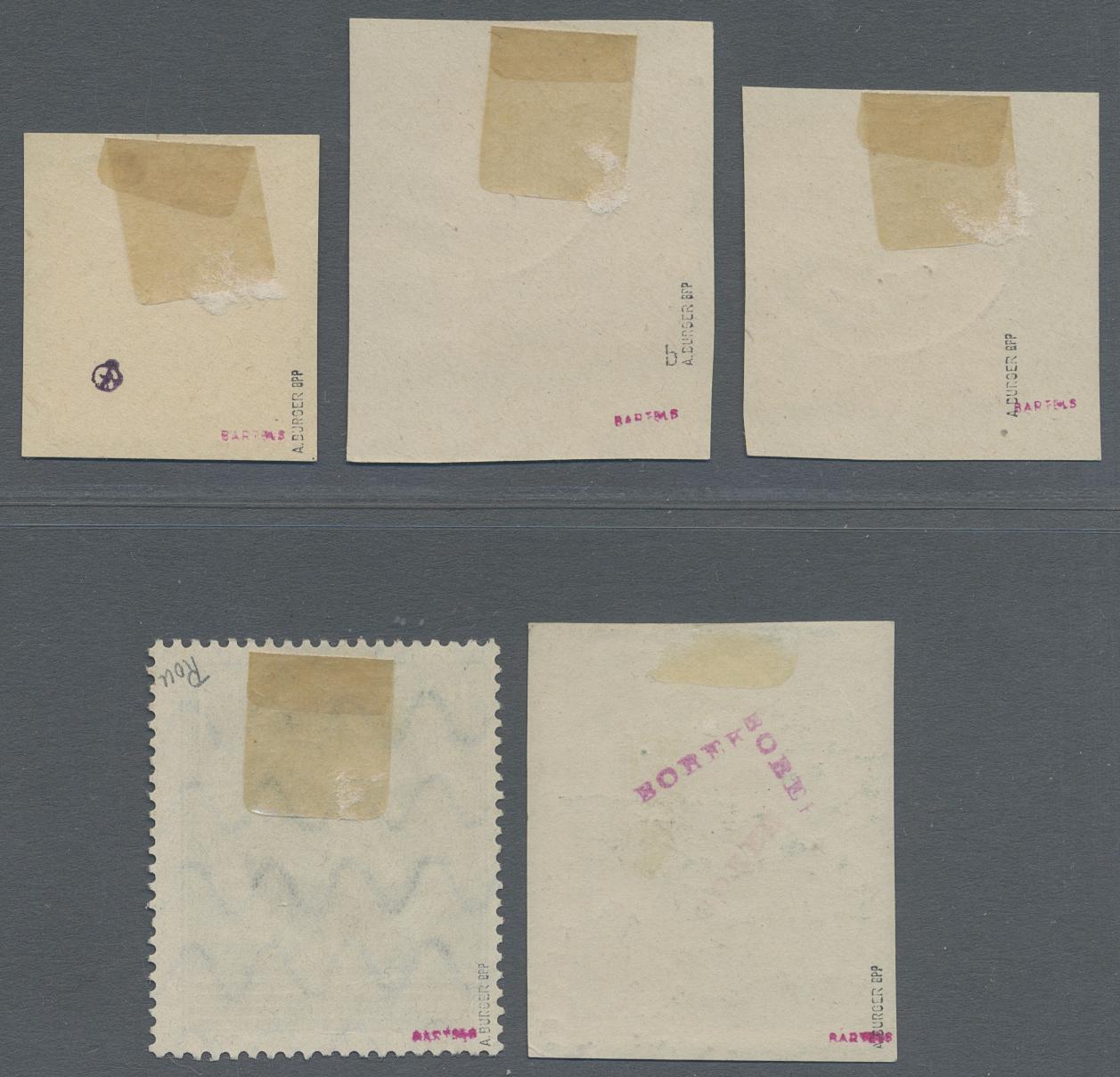 Lot 05997 - Deutsche Abstimmungsgebiete: Saargebiet  -  Auktionshaus Christoph Gärtner GmbH & Co. KG Special Auction 26.- 28. May 2020 Day 3 Single Lots