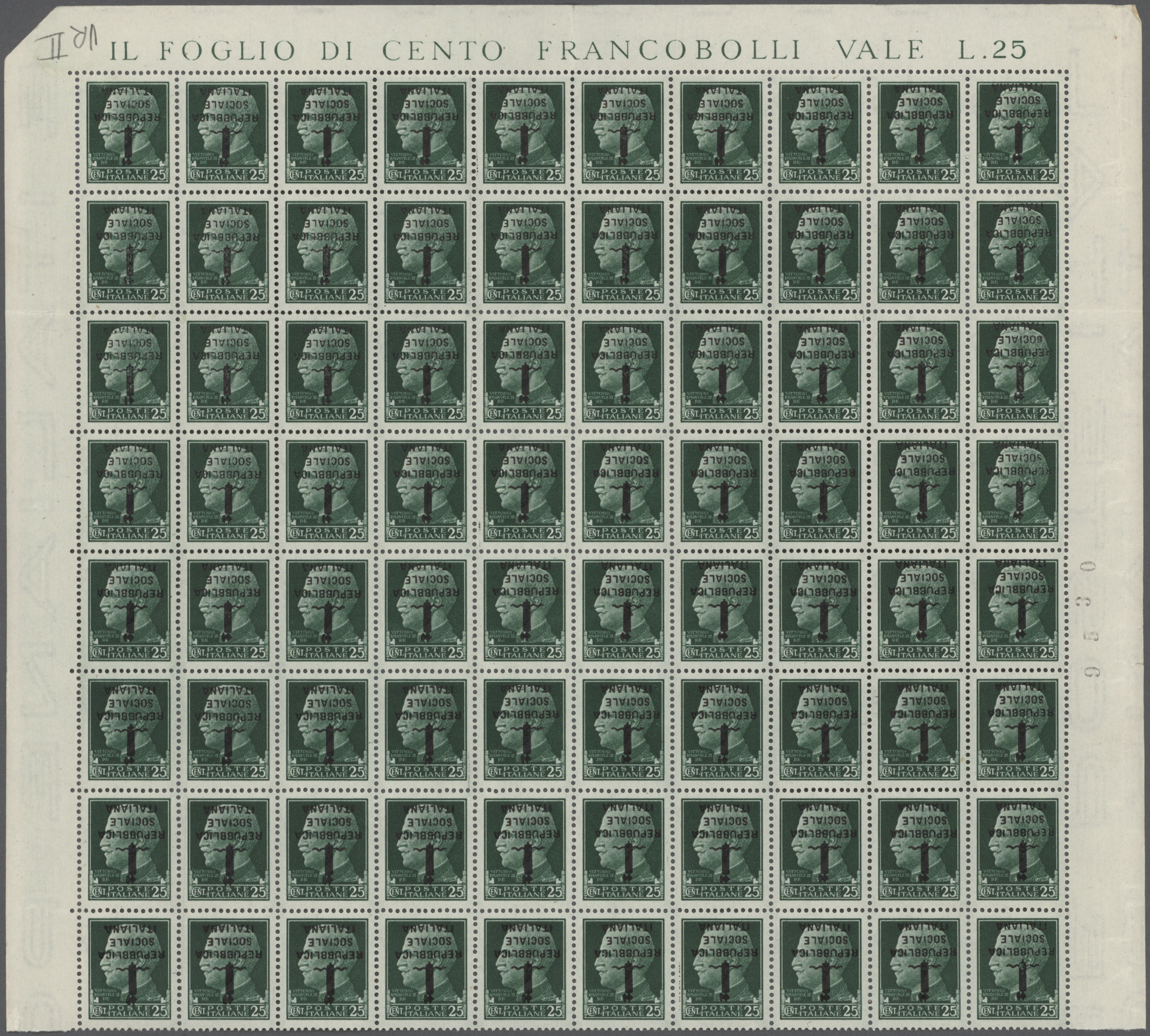 Lot 34955 - italien  -  Auktionshaus Christoph Gärtner GmbH & Co. KG Sale #44 Collections Germany