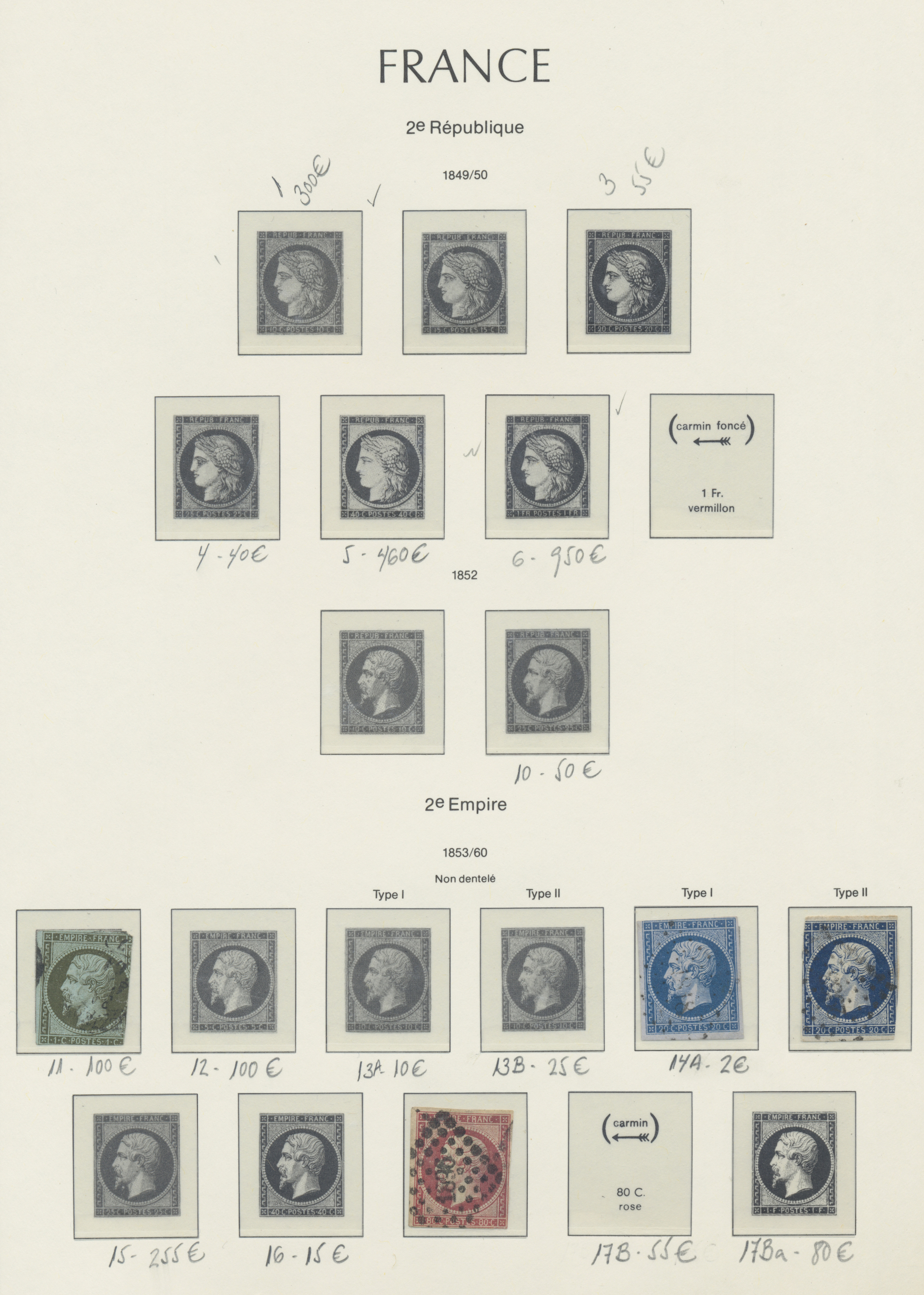 Lot 34911 - frankreich  -  Auktionshaus Christoph Gärtner GmbH & Co. KG Sale #44 Collections Germany
