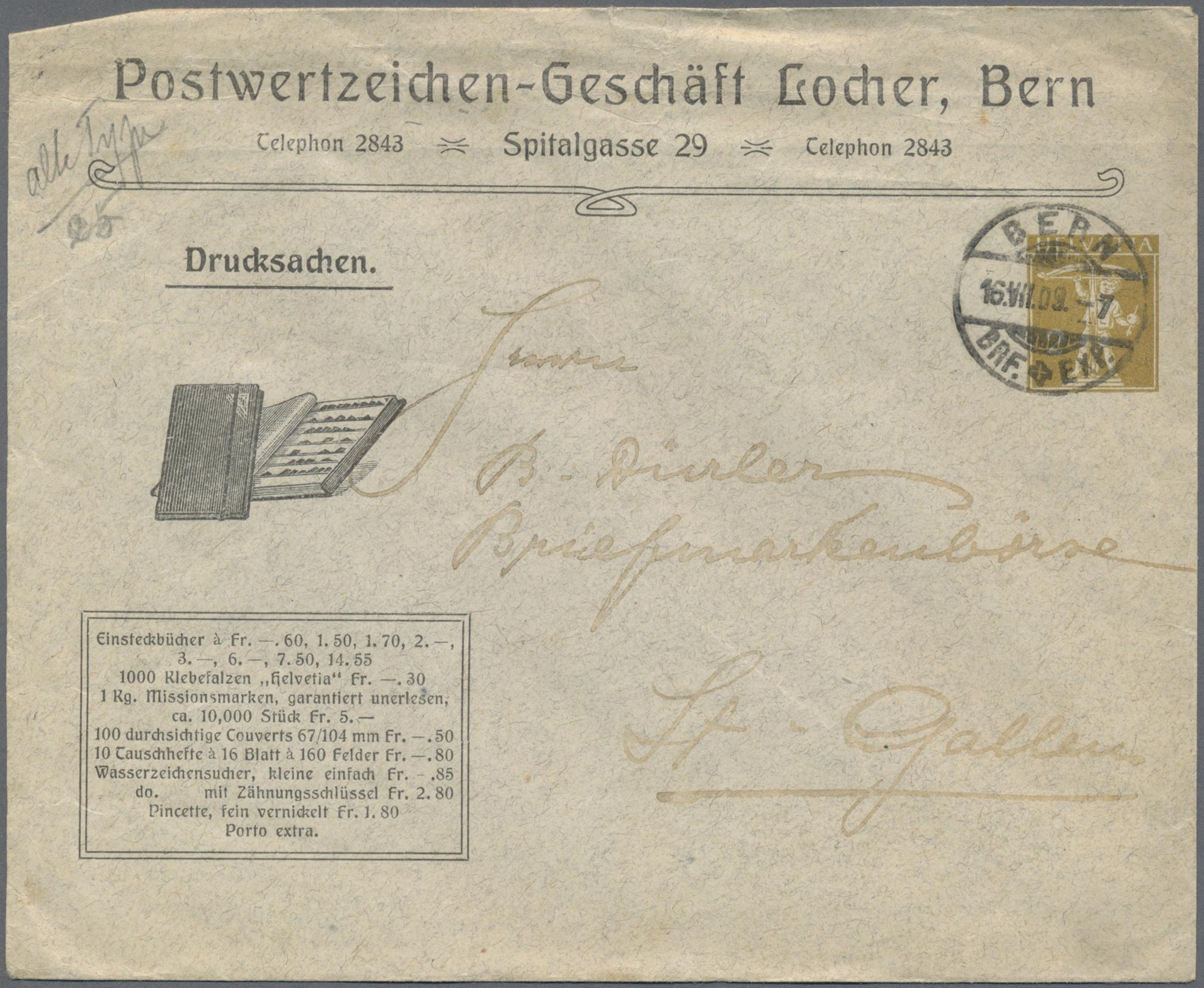 Lot 25517 - schweiz  -  Auktionshaus Christoph Gärtner GmbH & Co. KG Sale #46 Collections Worldwide