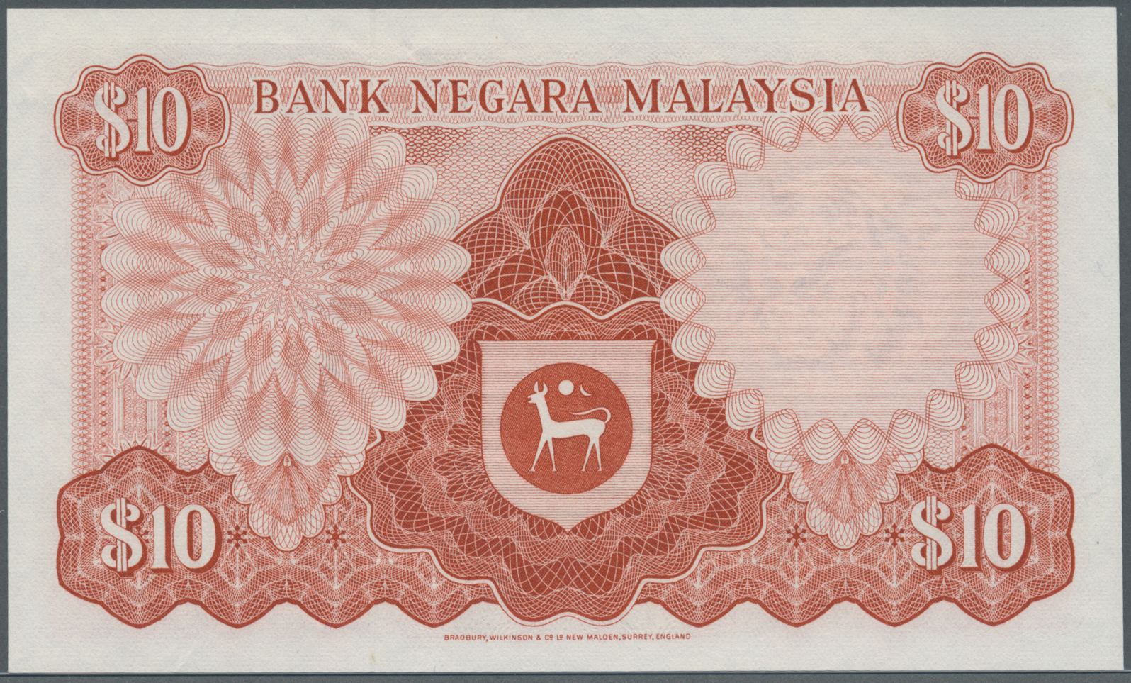 Lot 2334 - Malaysia | Banknoten  -  Auktionshaus Christoph Gärtner GmbH & Co. KG Banknotes & Coins Auction #39 Day 2