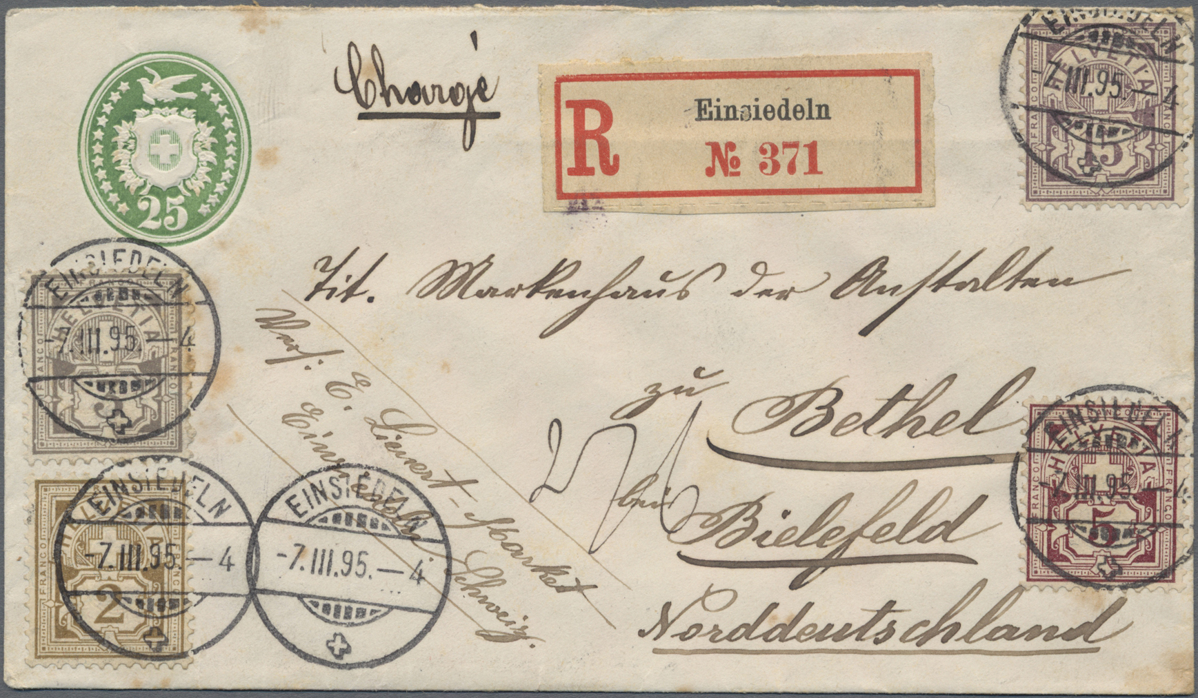 Lot 19494 - europa  -  Auktionshaus Christoph Gärtner GmbH & Co. KG Sale #48 collections Overseas  Airmail / Ship mail & Thematics