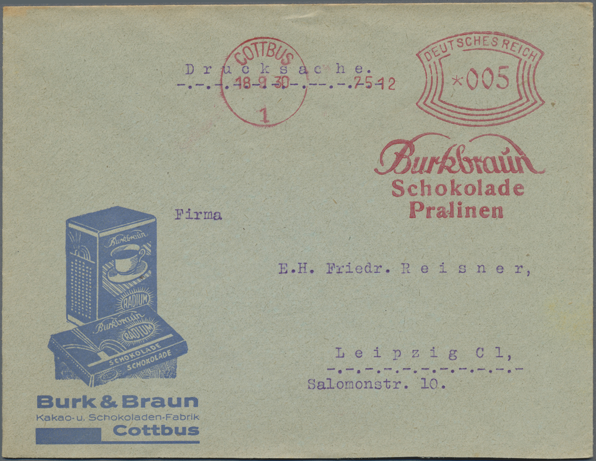 Lot 34848 - thematik: nahrung-schokolade / food-chocolate  -  Auktionshaus Christoph Gärtner GmbH & Co. KG Sale #44 Collections Germany