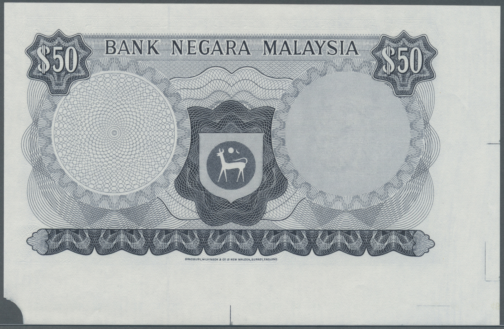 Lot 2335 - Malaysia | Banknoten  -  Auktionshaus Christoph Gärtner GmbH & Co. KG Banknotes & Coins Auction #39 Day 2