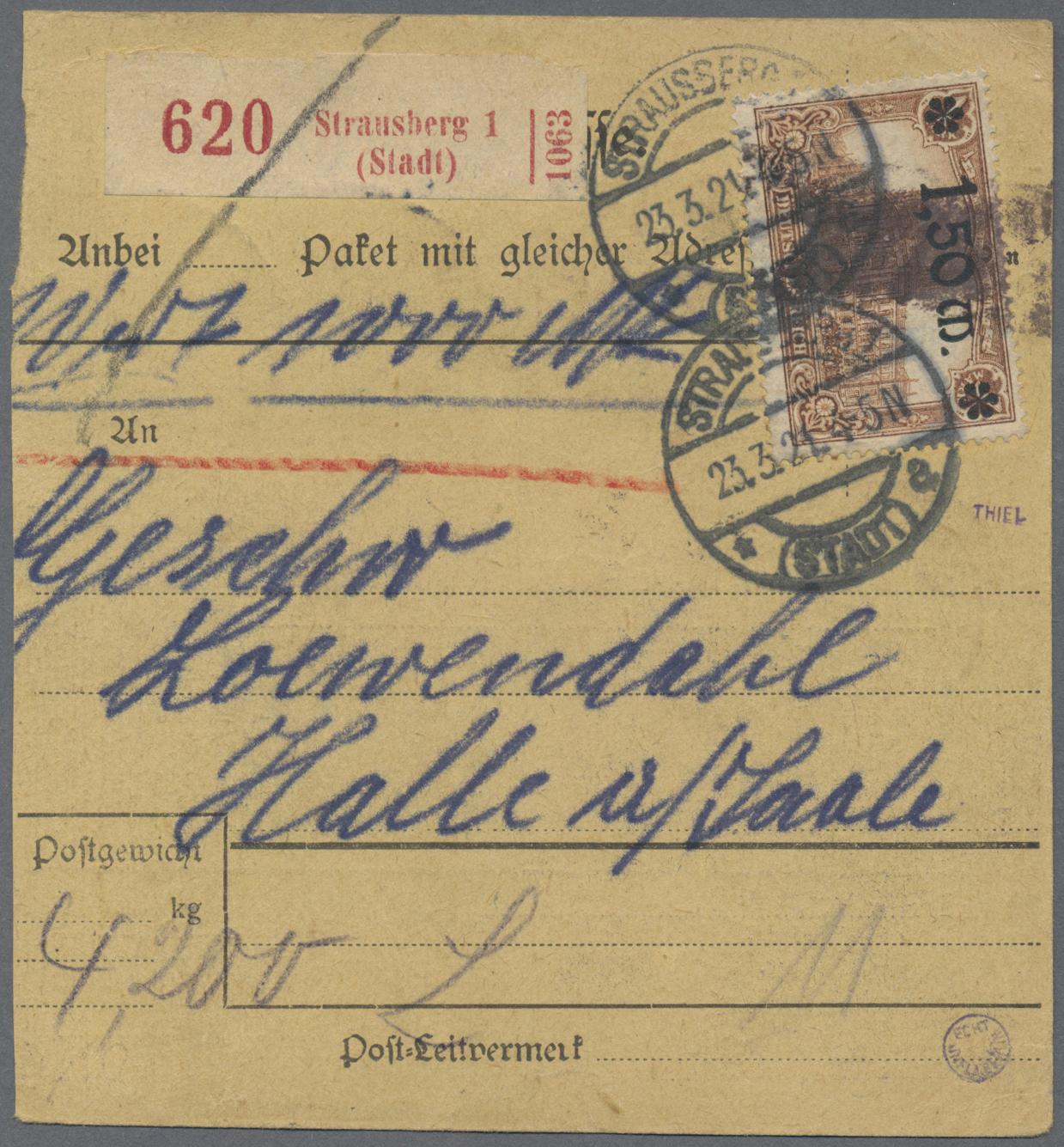 Lot 28122 - altdeutschland und deutsches reich  -  Auktionshaus Christoph Gärtner GmbH & Co. KG Sale #46 Gollcetions Germany - including the suplement