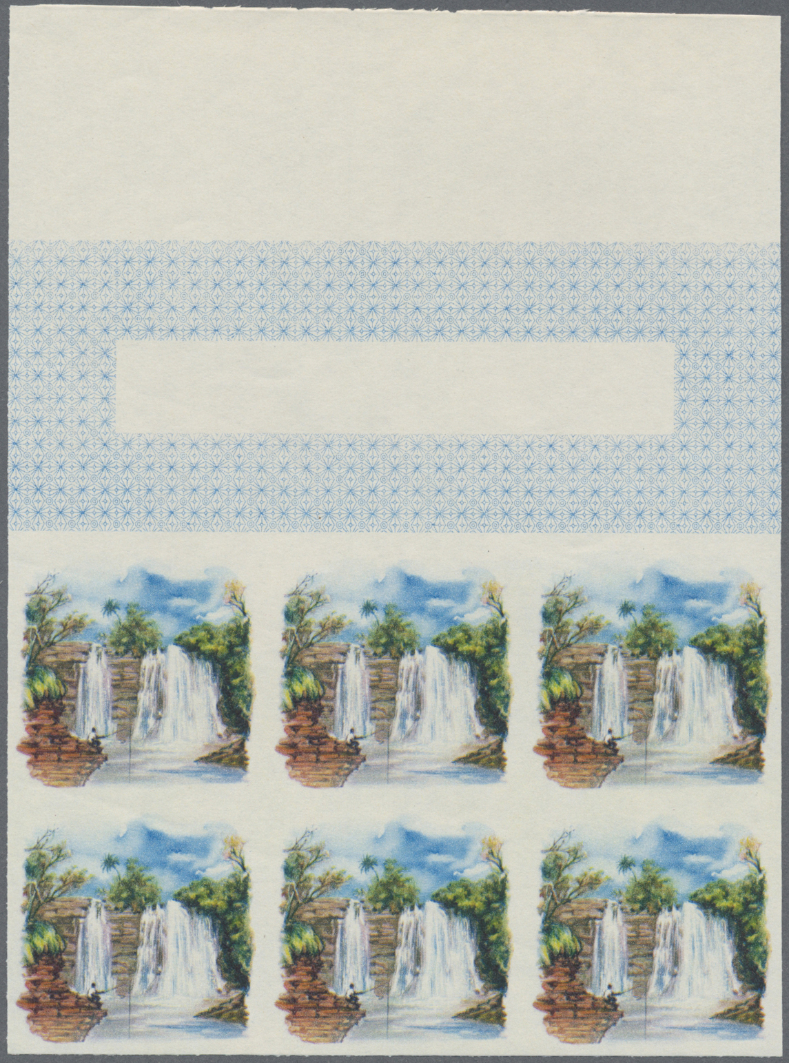 Lot 12863 - thematik: wasserfälle / waterfalls  -  Auktionshaus Christoph Gärtner GmbH & Co. KG Single lots Philately Overseas & Europe. Auction #39 Day 4